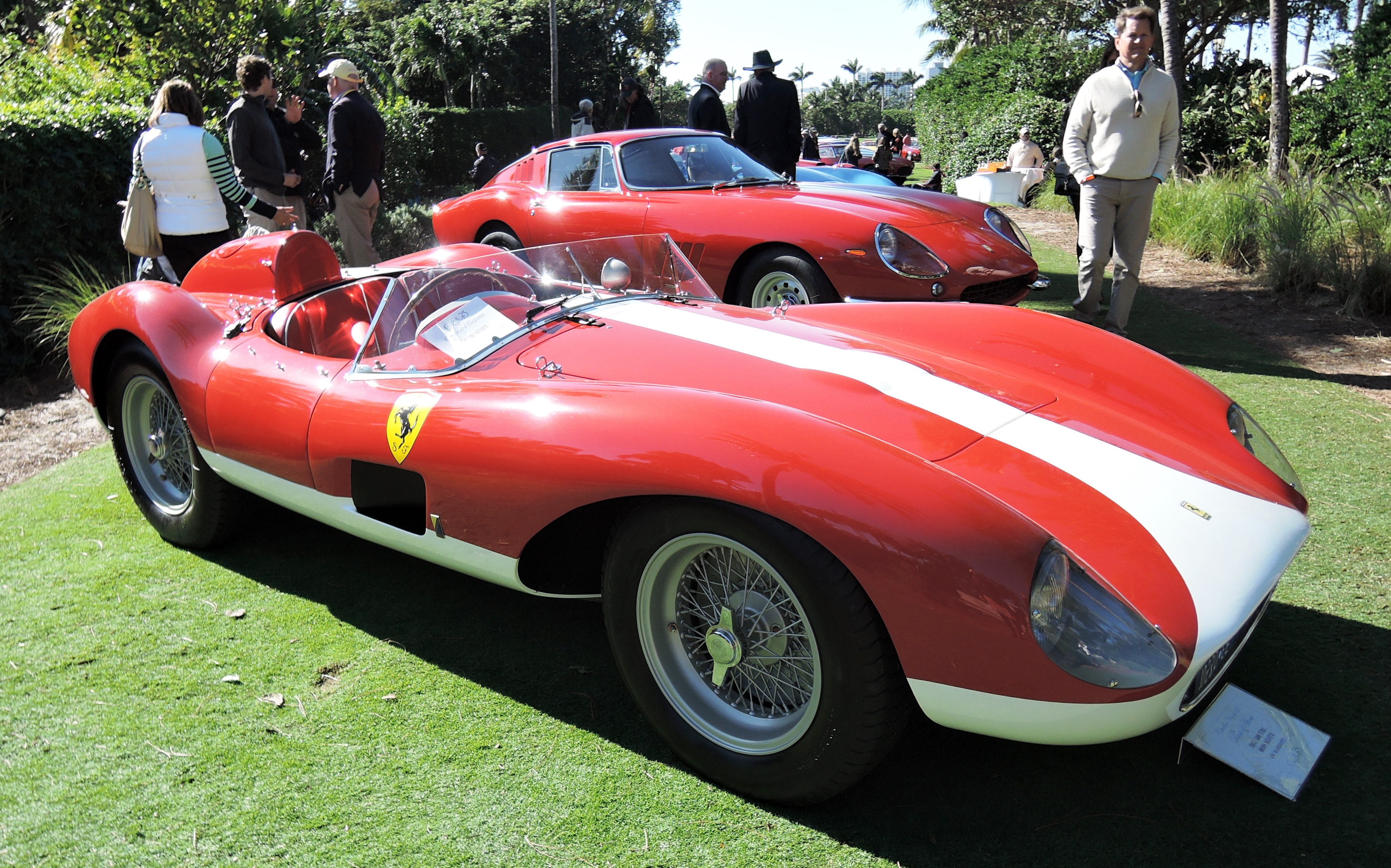 1957 Ferrari 500 TRC s/n 0698 MDTR owned by JW Marriott - cavallino classic