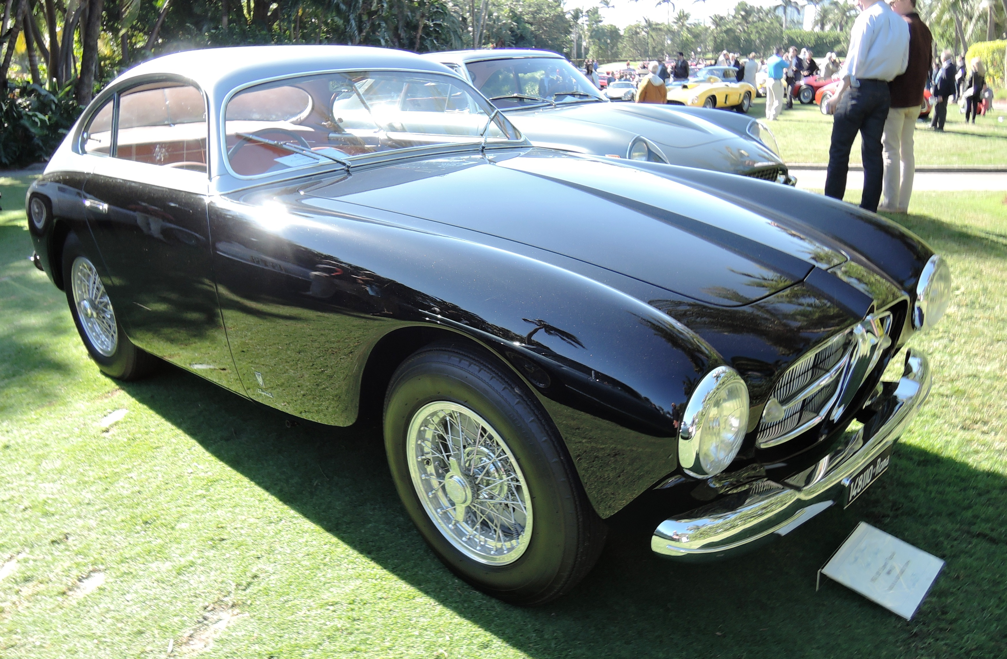 1951 Ferrari 212 Export Vignale s/n 0080 E owned by Brian & Kimberly Ross - Cavallino Classic