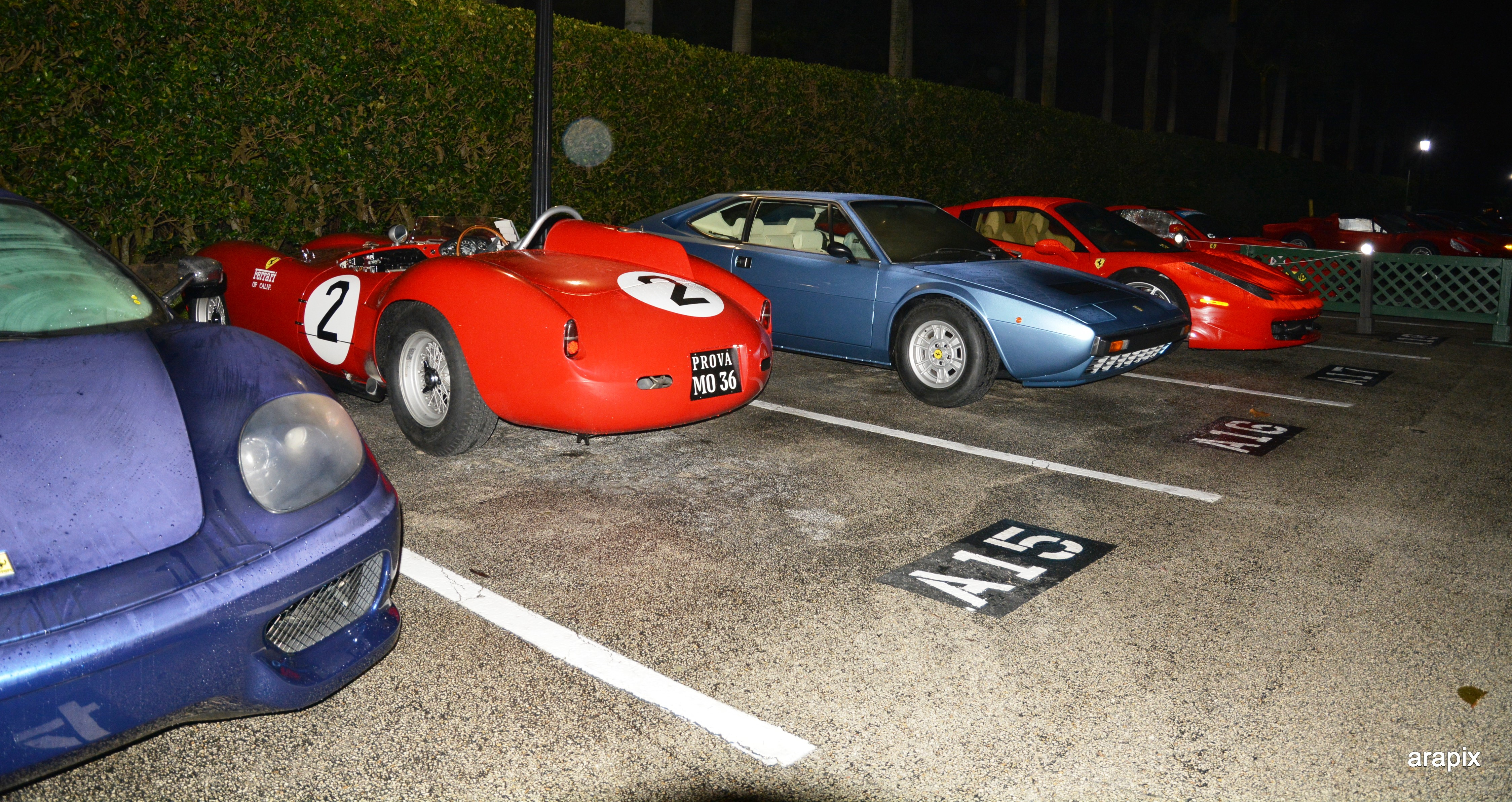 the parking lot cavallino -jet center reception
