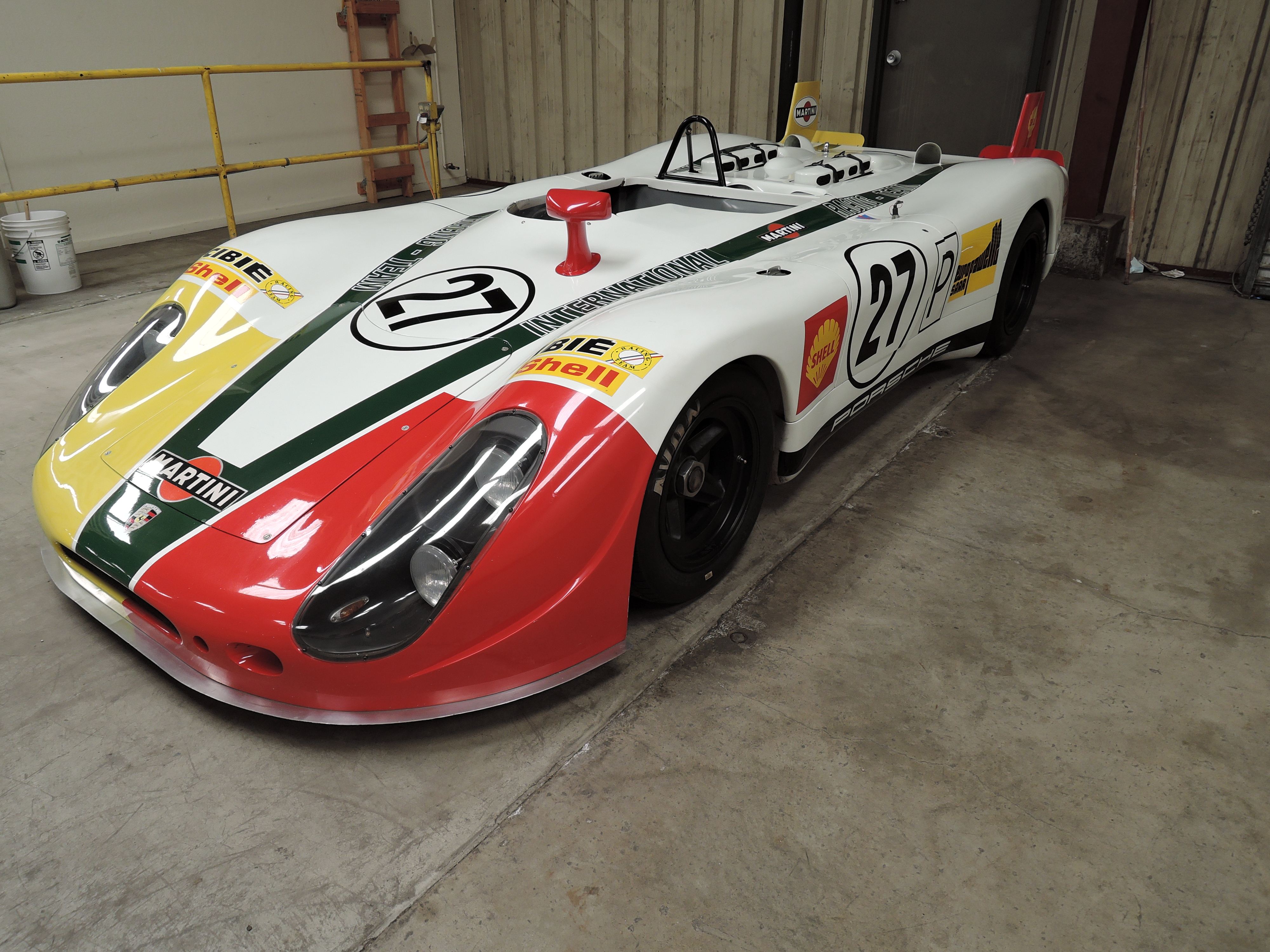 Porsche 917 race car - monterey car week 2015