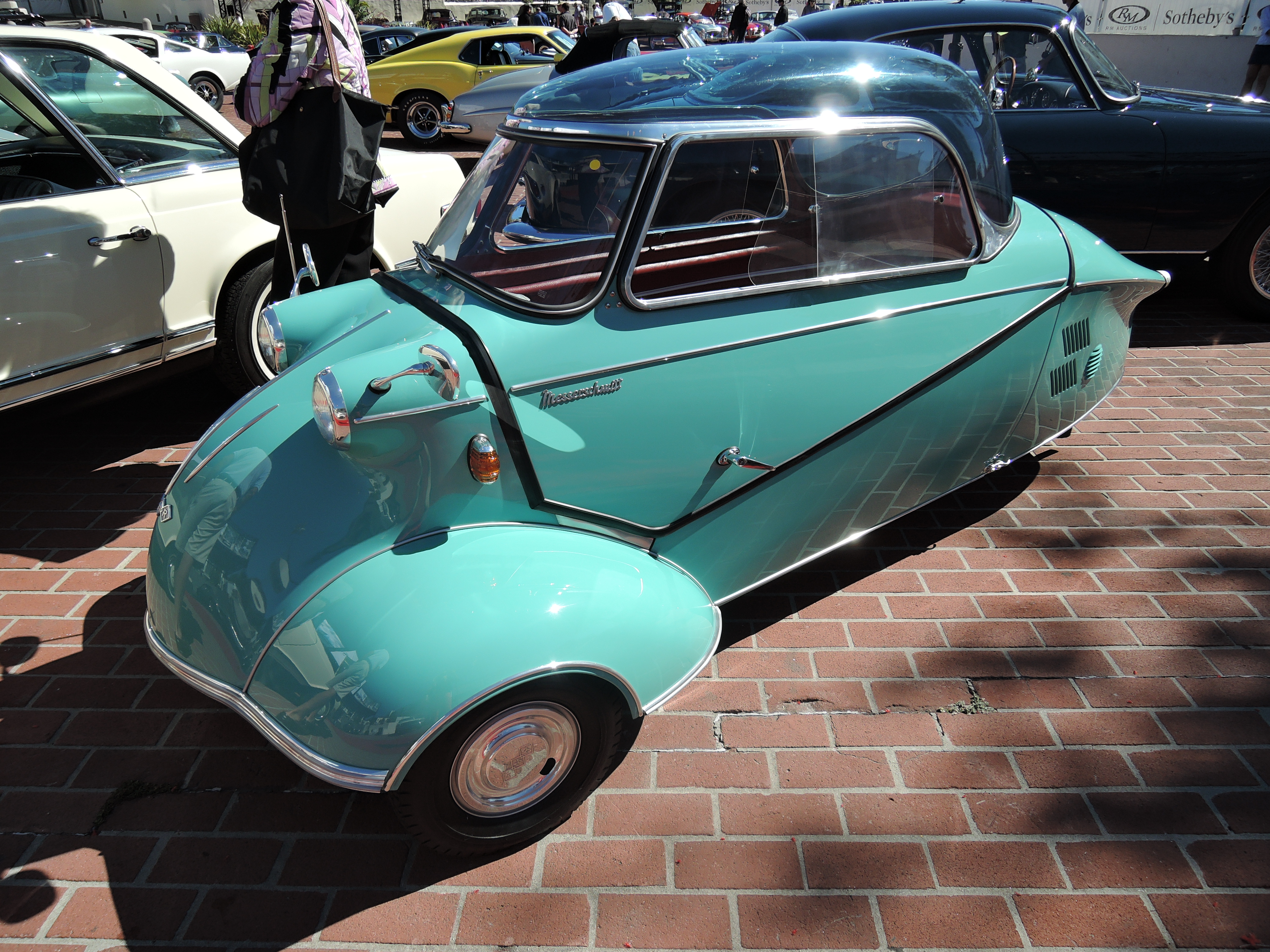 green 1962 Messerschmitt KR 200 at RM Sotheby''s - classic car auctions