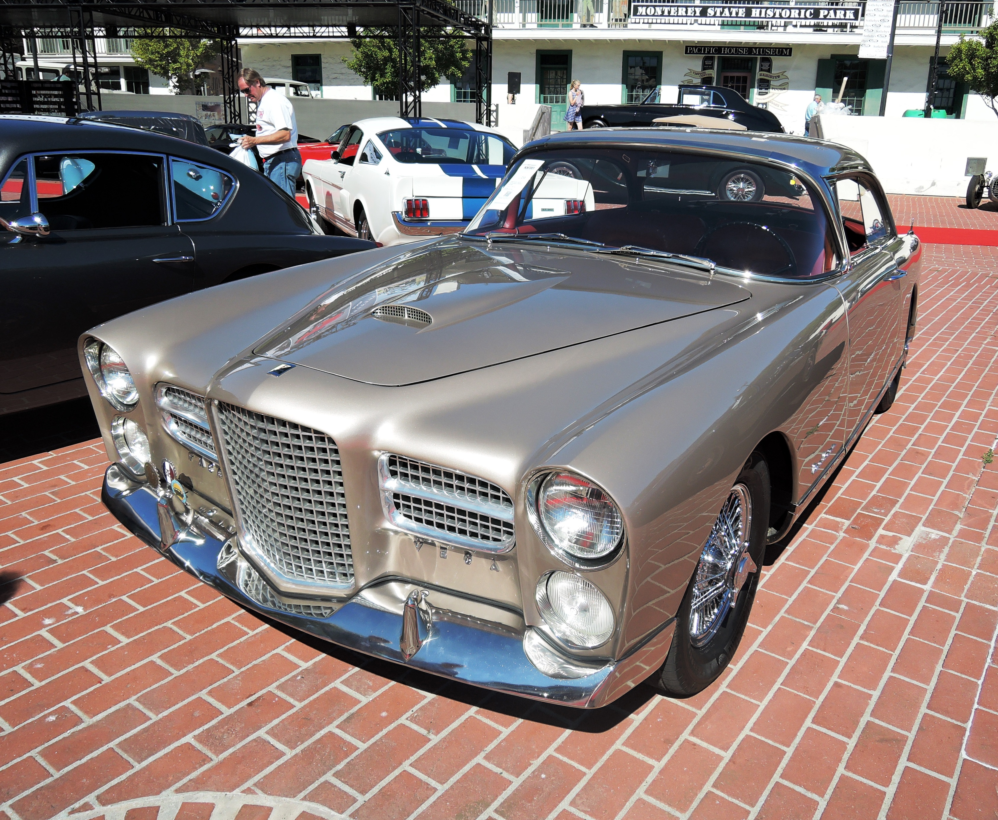 gold 1958 Facel Vega FVS Series 4 Sport Coupe at RM Sotheby's - classic car auctions
