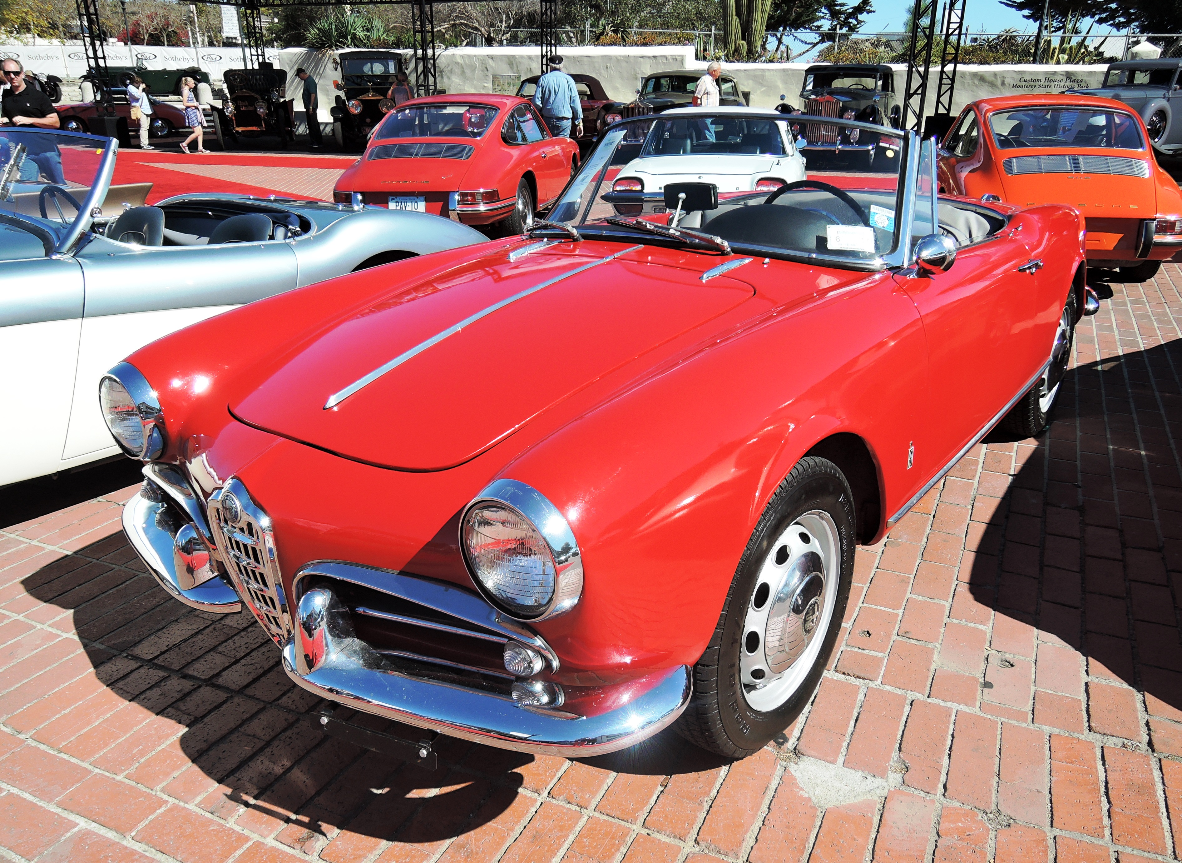 red 1962 Alfa Romeo Giulietta Spider at RM Sotheby's - classic car auctions