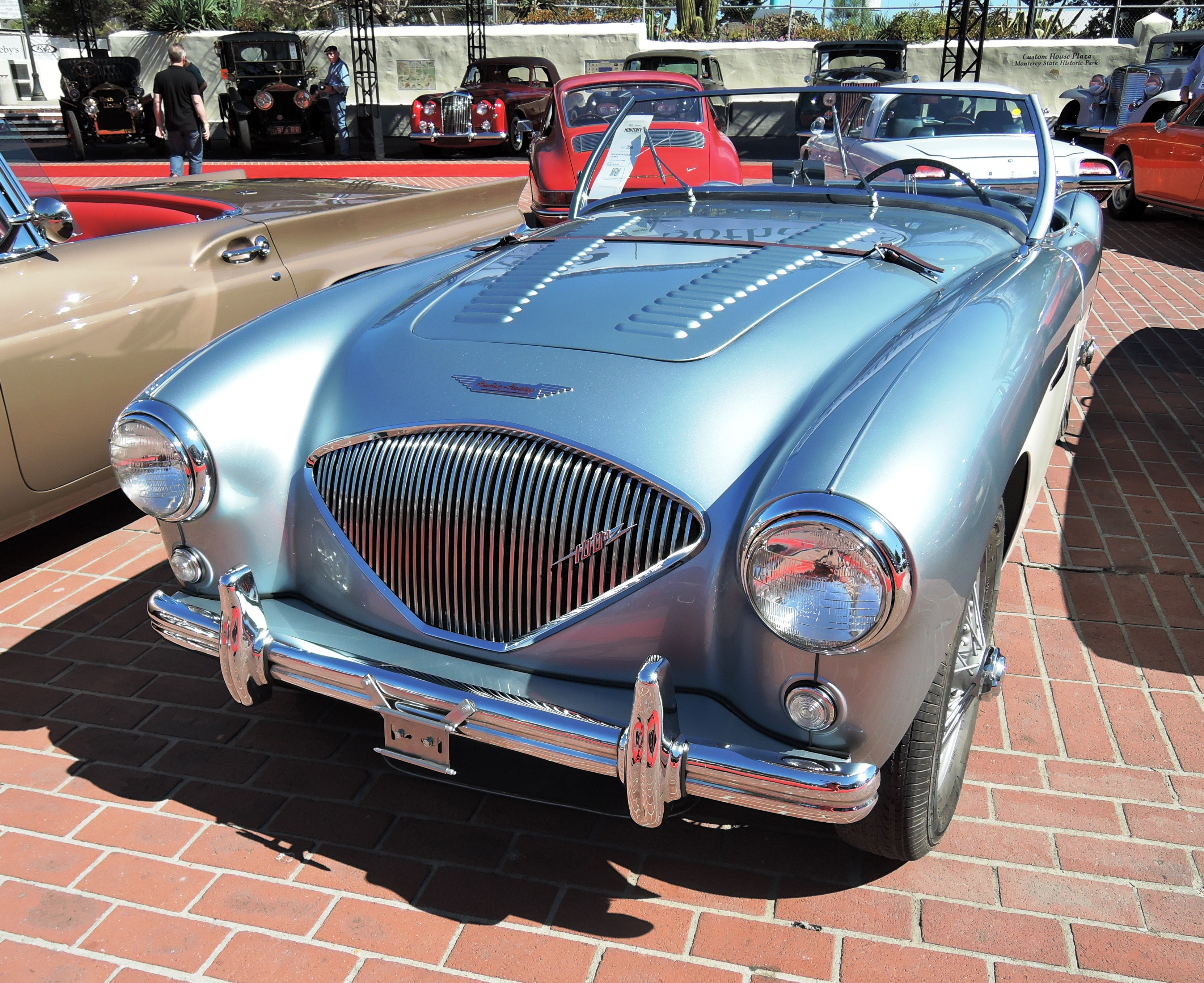 blue 1953 Austin-Healey 100 BN1 at Rm Sotheby's - classic car auctions