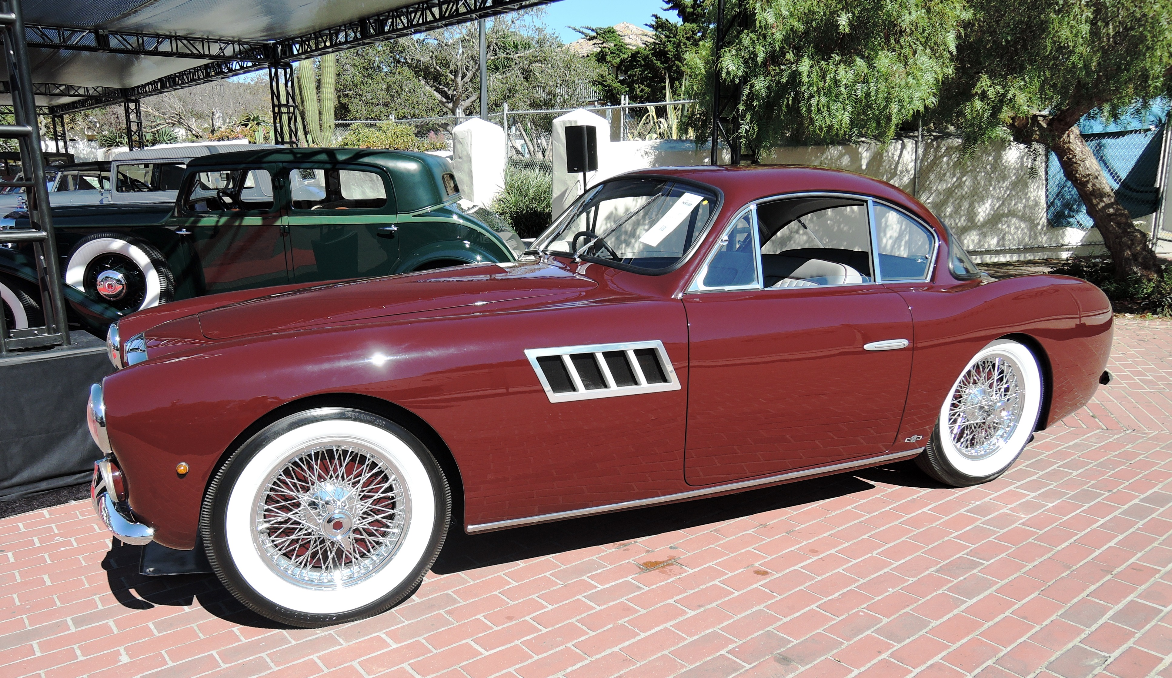 maroon 1954 Talbot Lago T26 GSL at RM Sotheby's - classic car auctions