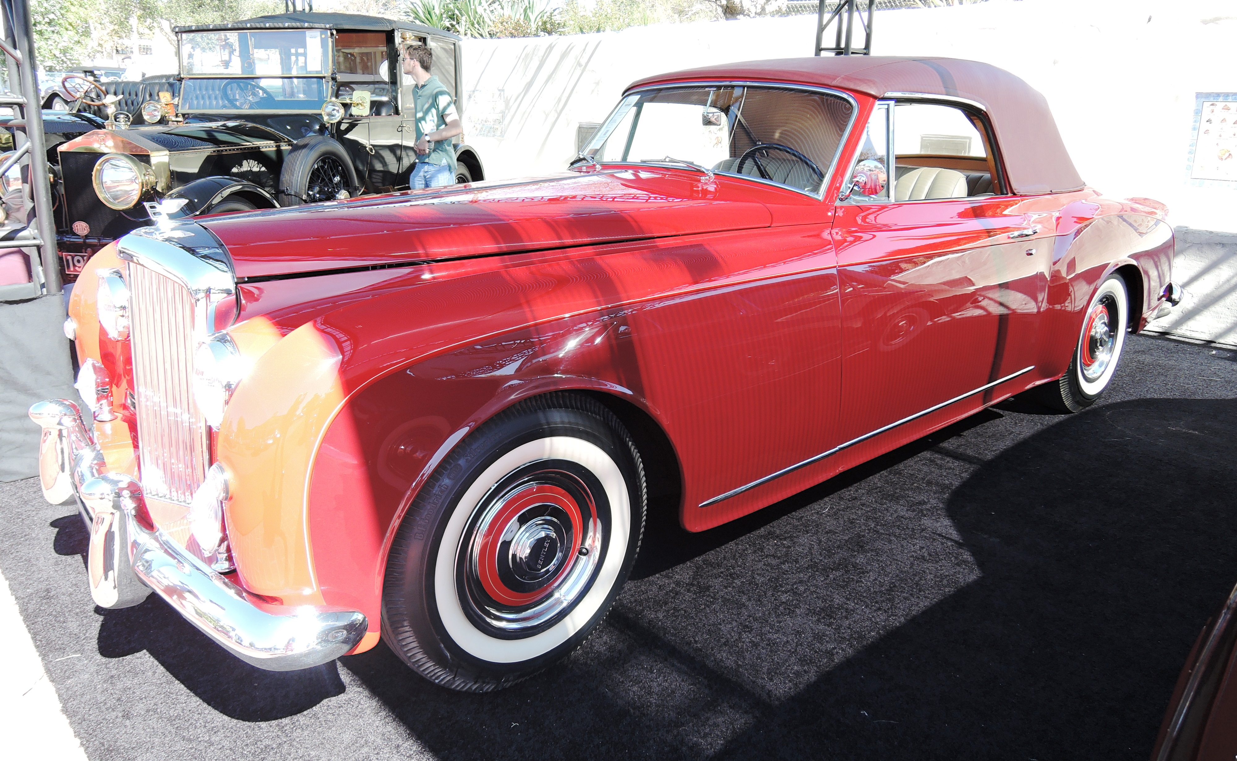 red 1956 Bentley S1 Continental Drophead Coupe at RM Sotheby's - classic car auctions