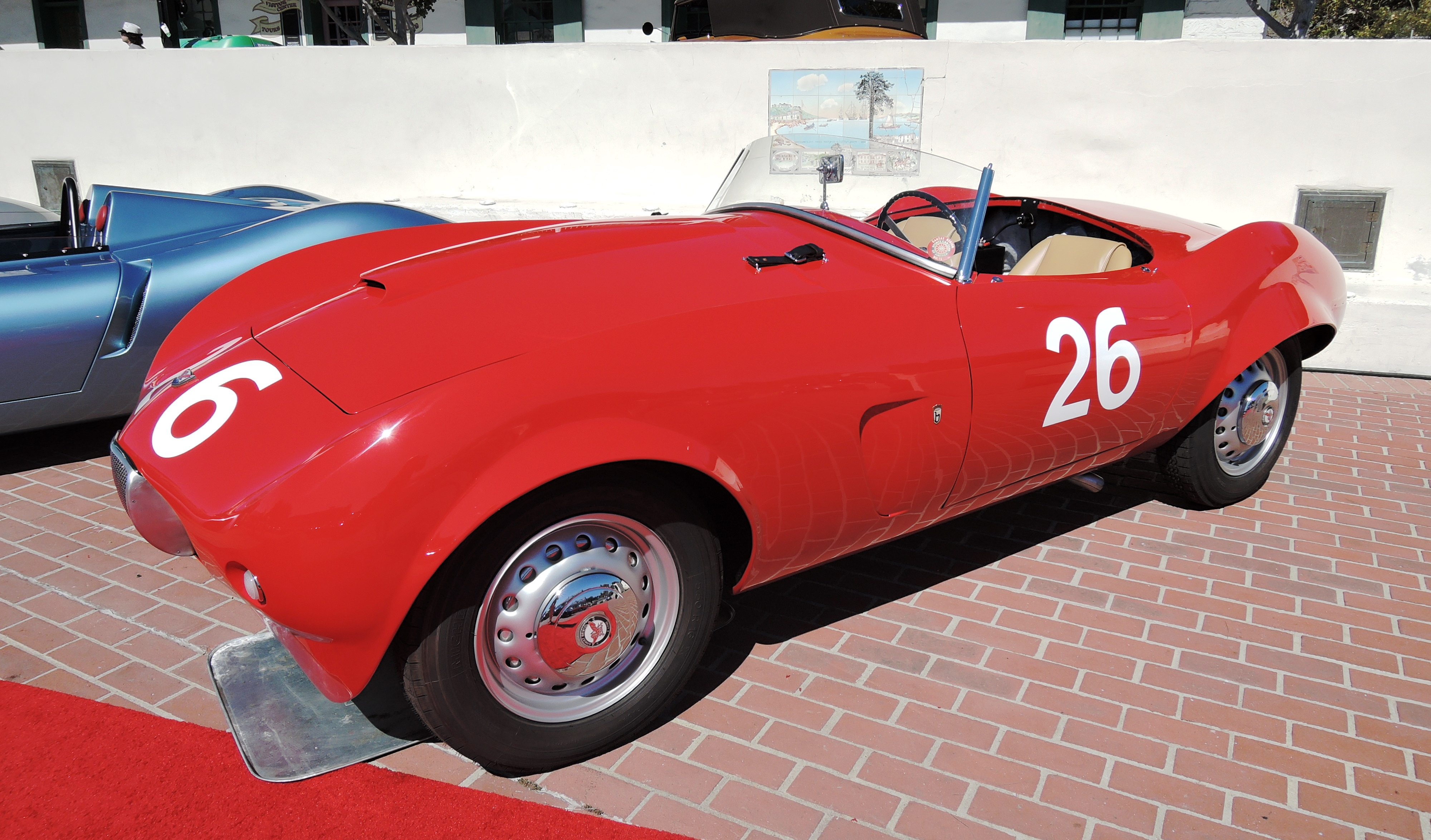 red 1956 Arnolt-Bristol Roadster at RM Sotheby's - classic car auctions