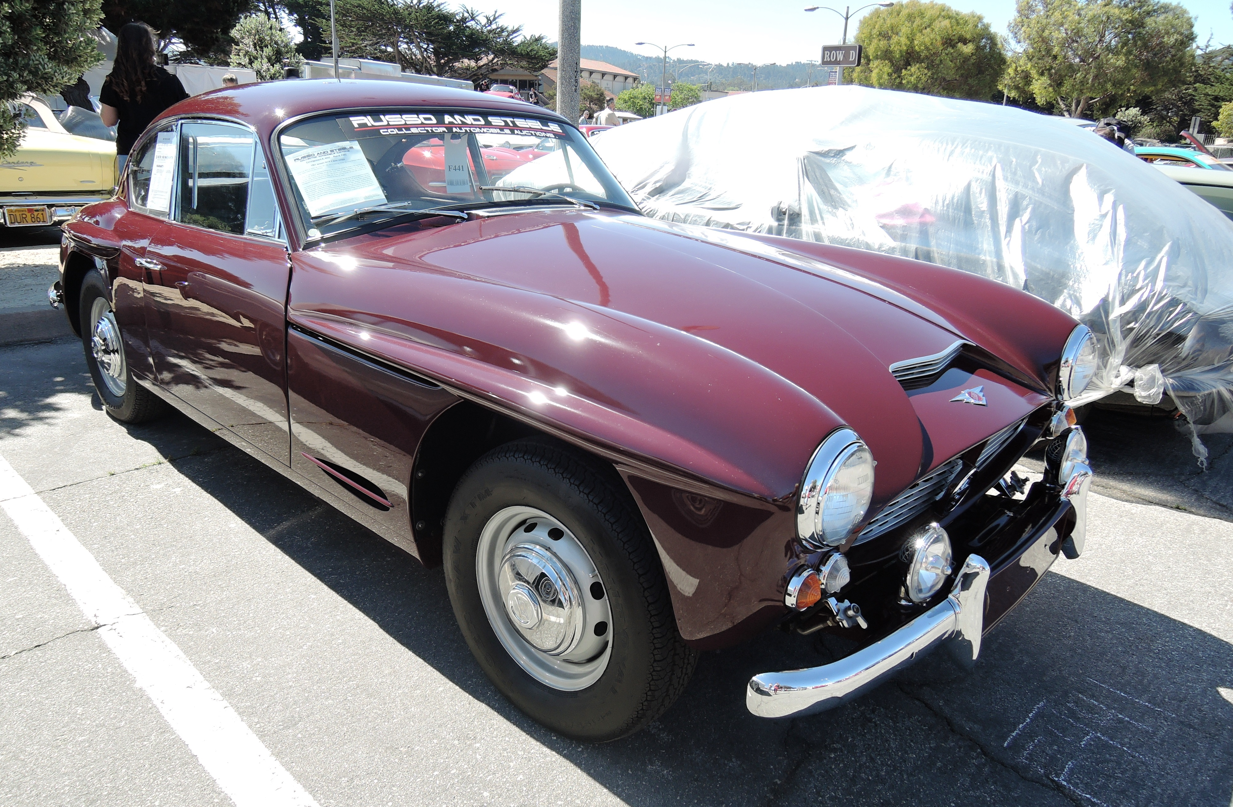 maroon 1961 Jensen 541S 2-door Coupe at Russo & Steele - classic car auctions