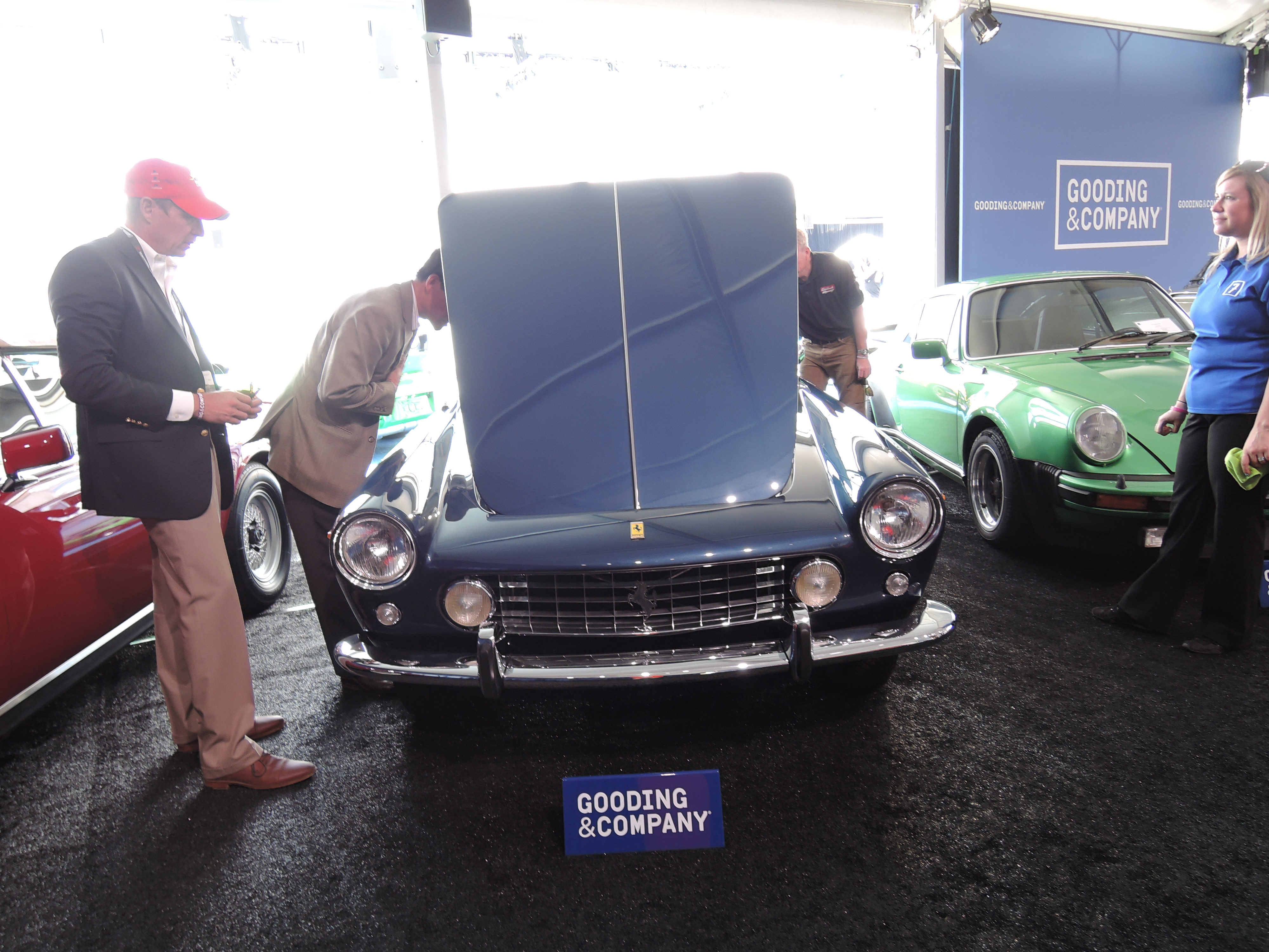 blue 1961 Ferrari 250 GT/E at Gooding & Company - classic car auctions