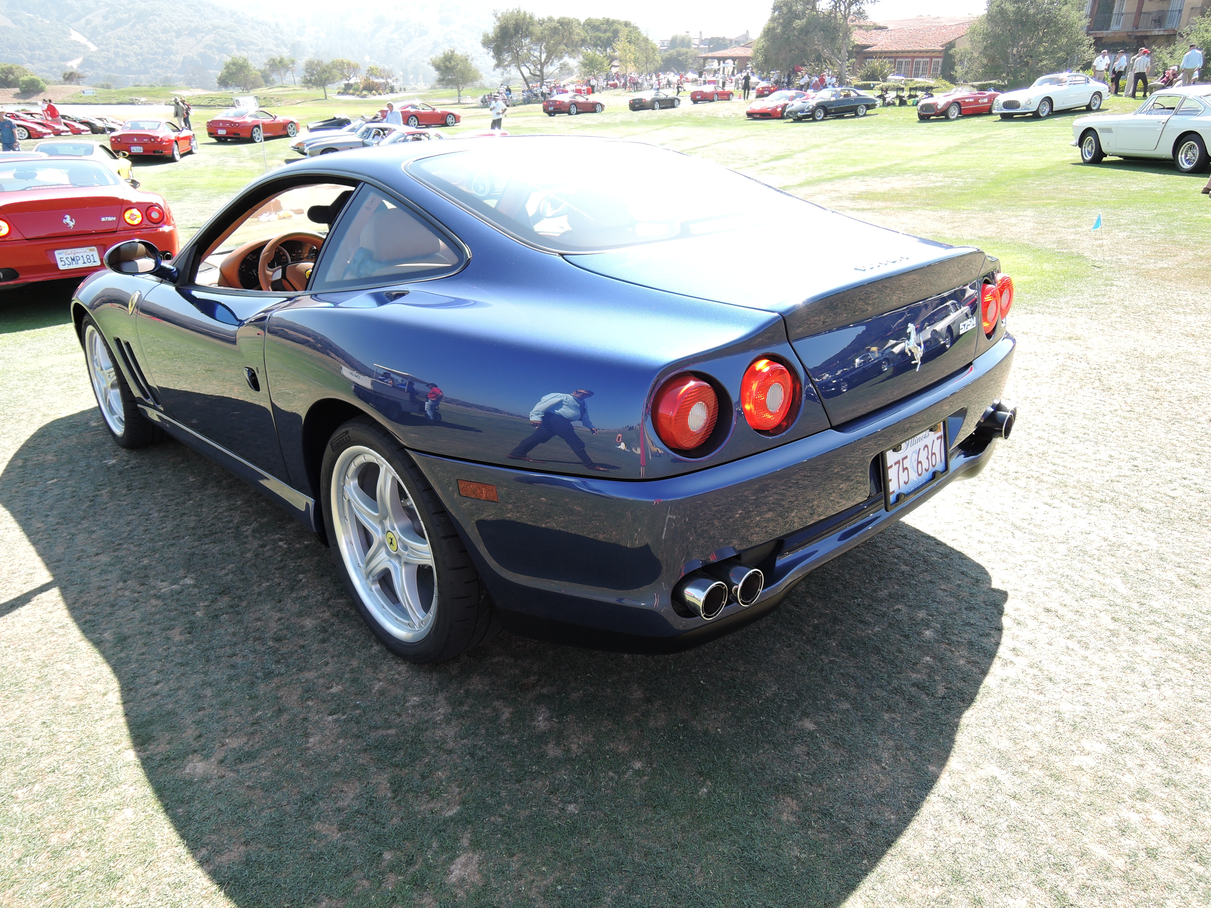 blue Ferrari 550 HTC package