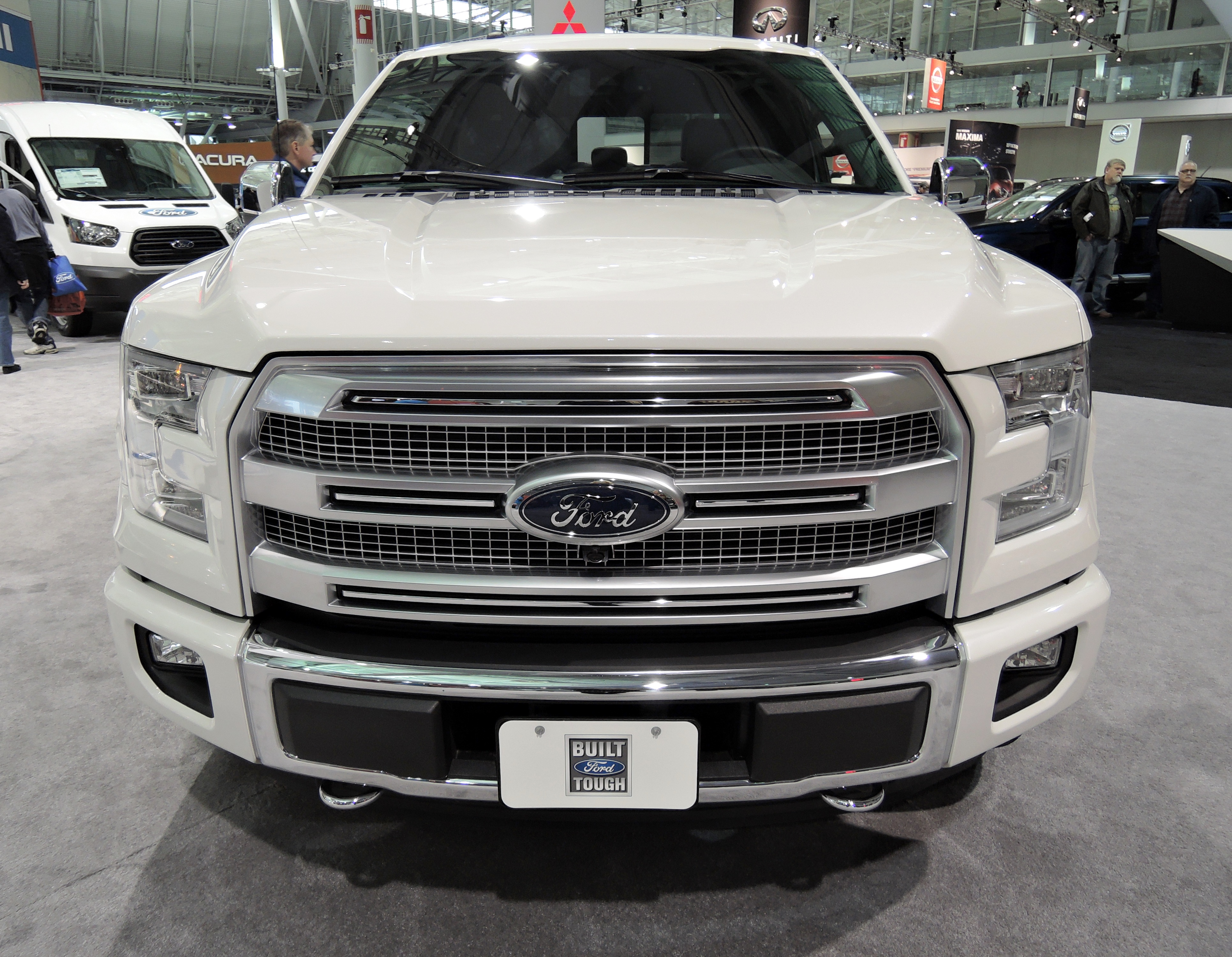 ford 150 - new england auto show