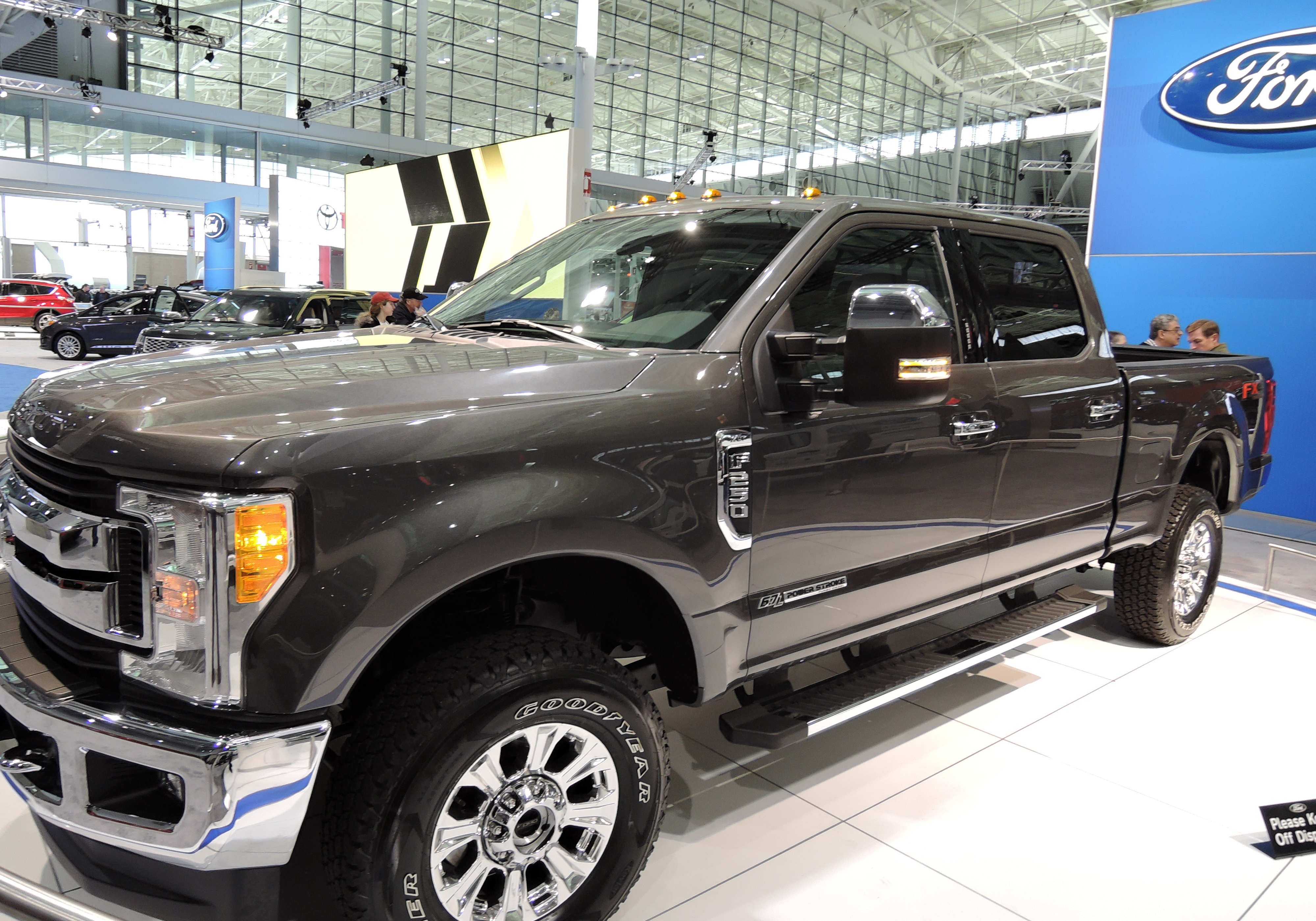 2017 Ford F-250 SuperDuty - new england auto show