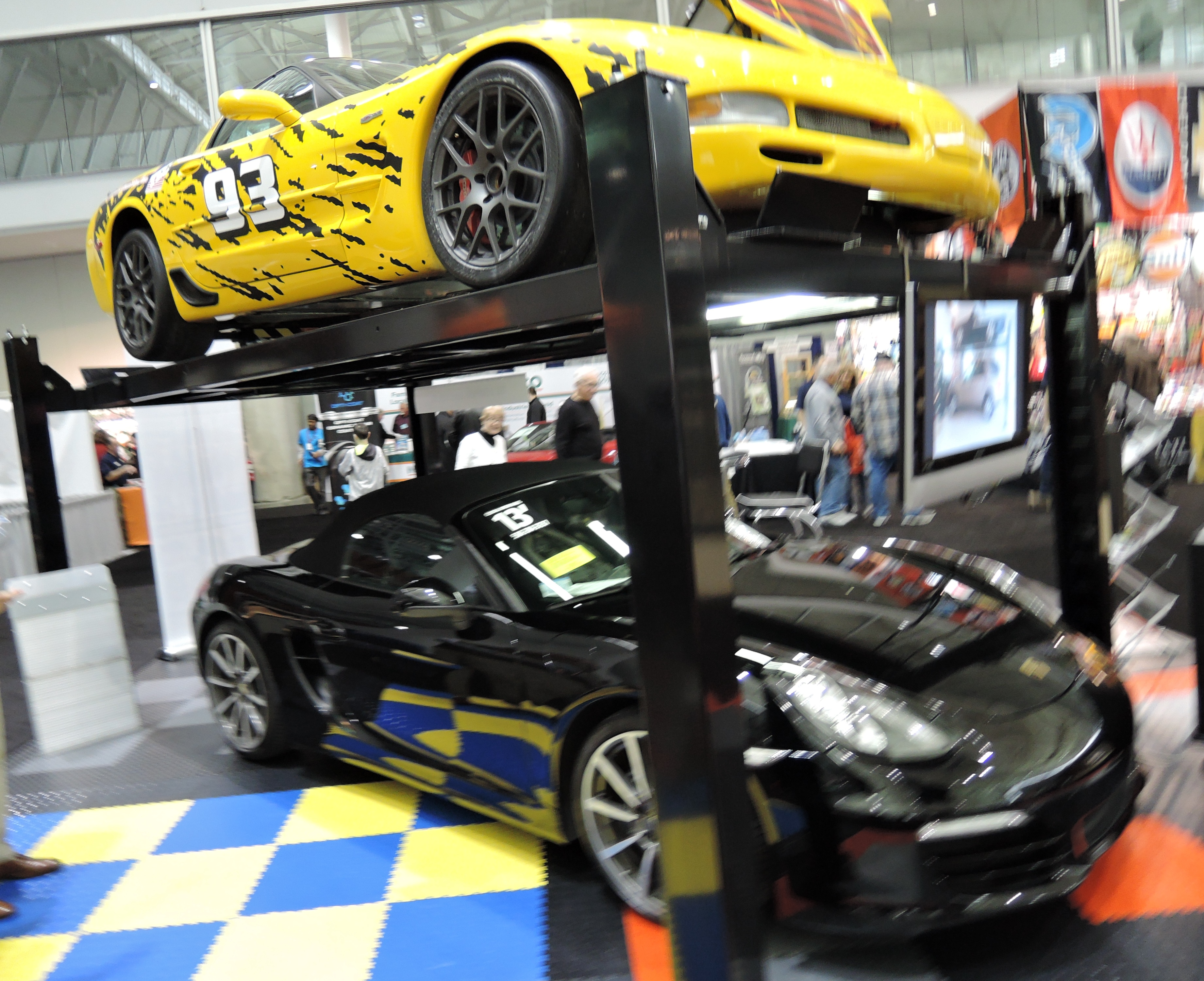 car lifts - new england auto show