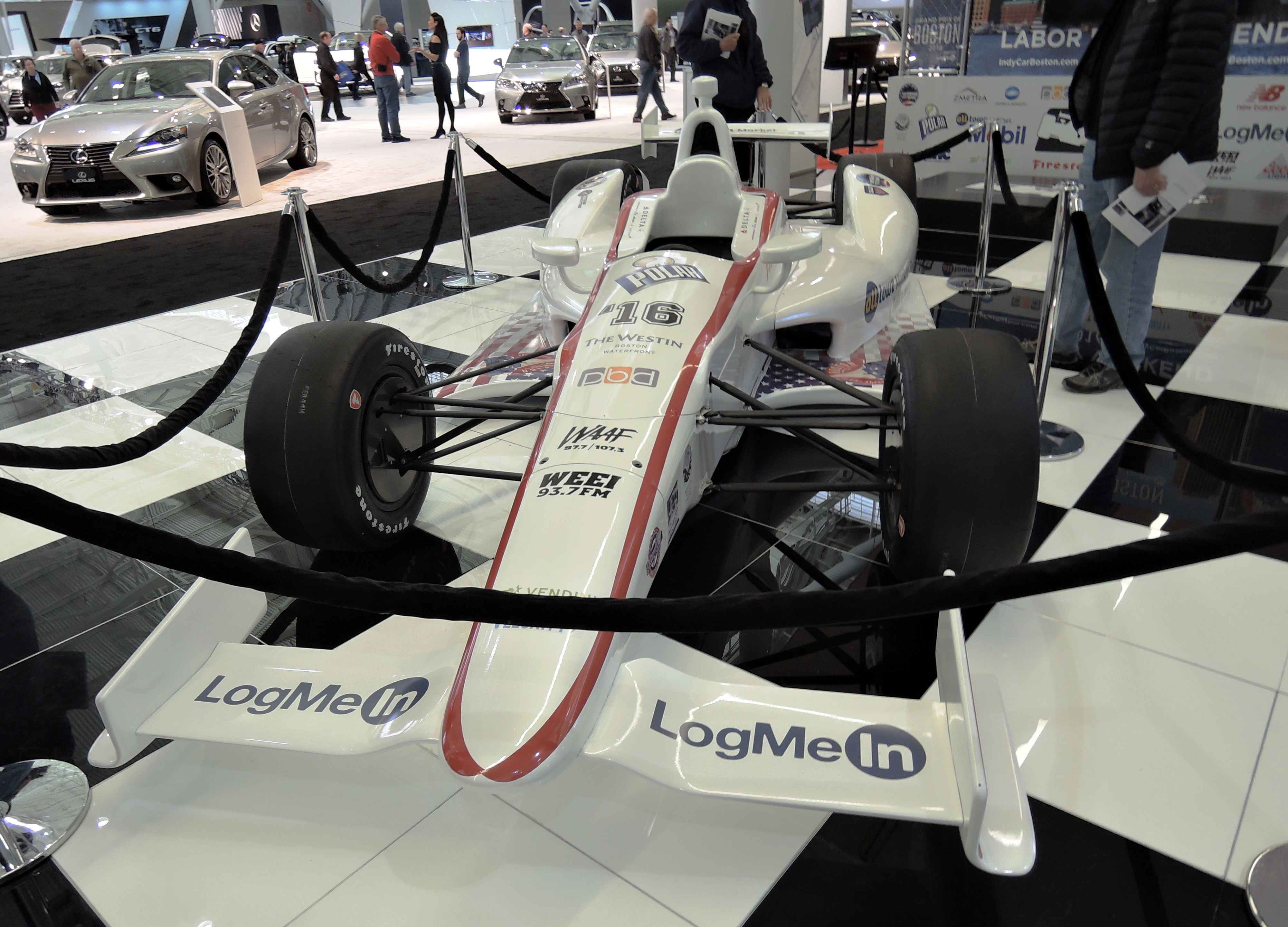 indy car - new england auto show