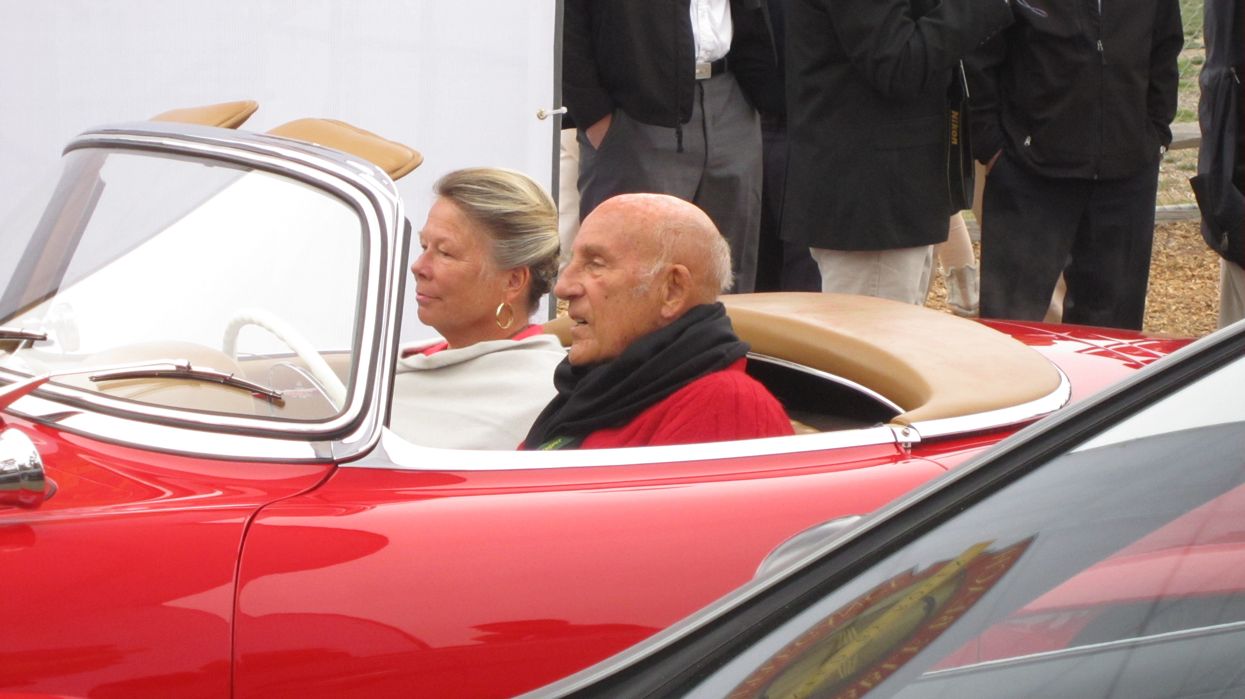 Sir Stirling Moss and Lady Susie - tour d'elegance