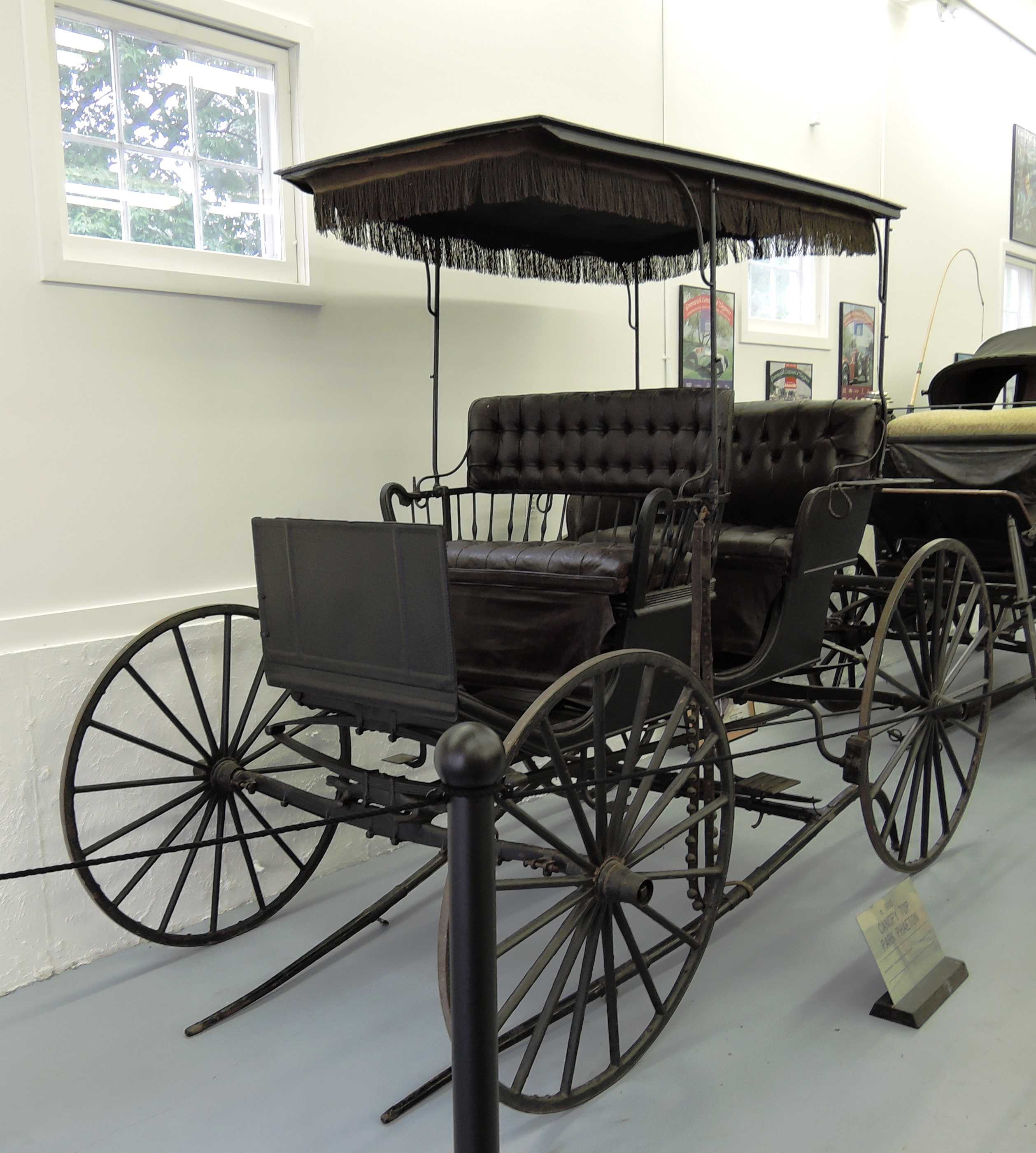1900 Canopy Top Park Phaeton - bahre car collection