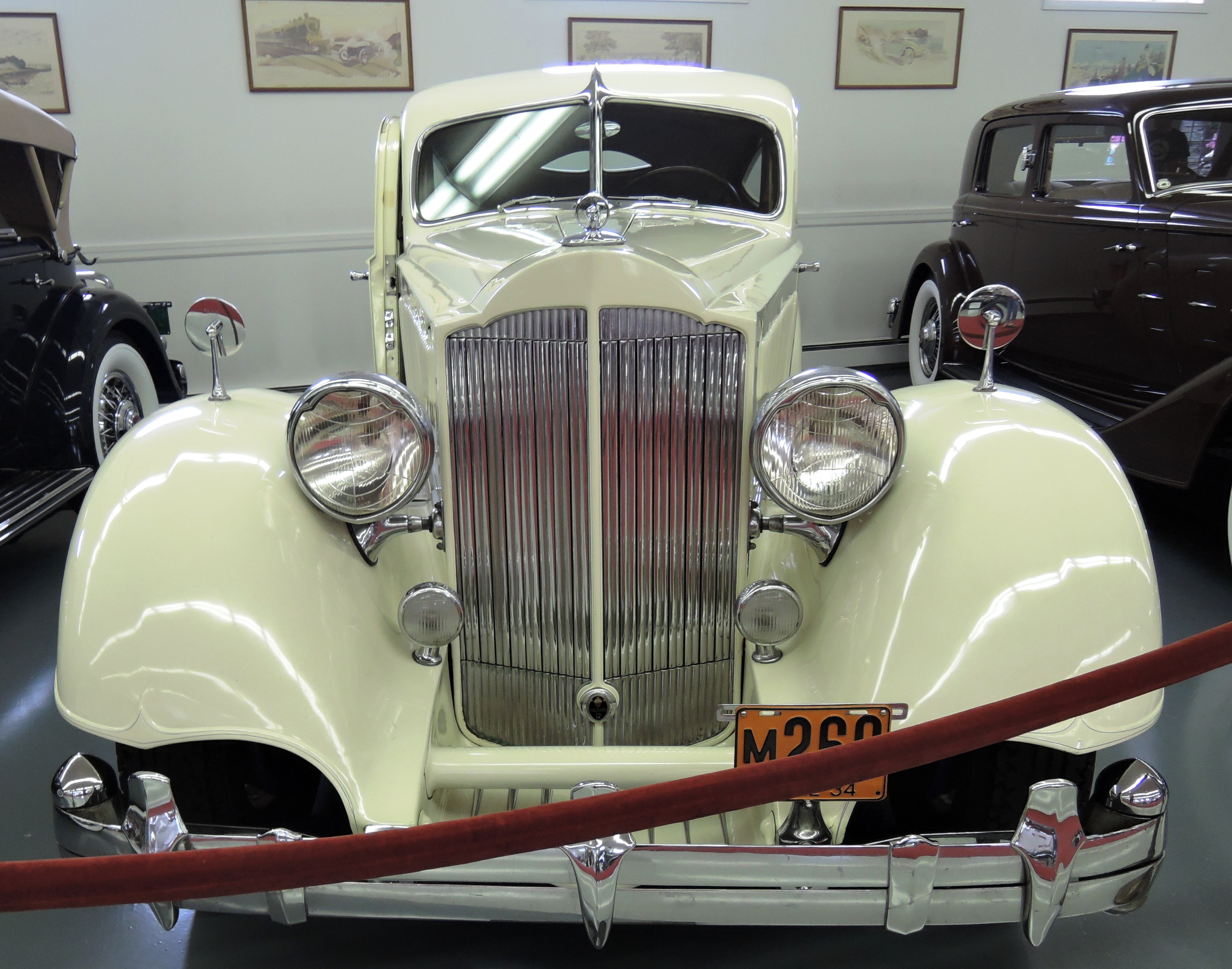 1934 Packard 1106 Twelve Sport Coupe with a custom body by LeBaron - bahre car collection