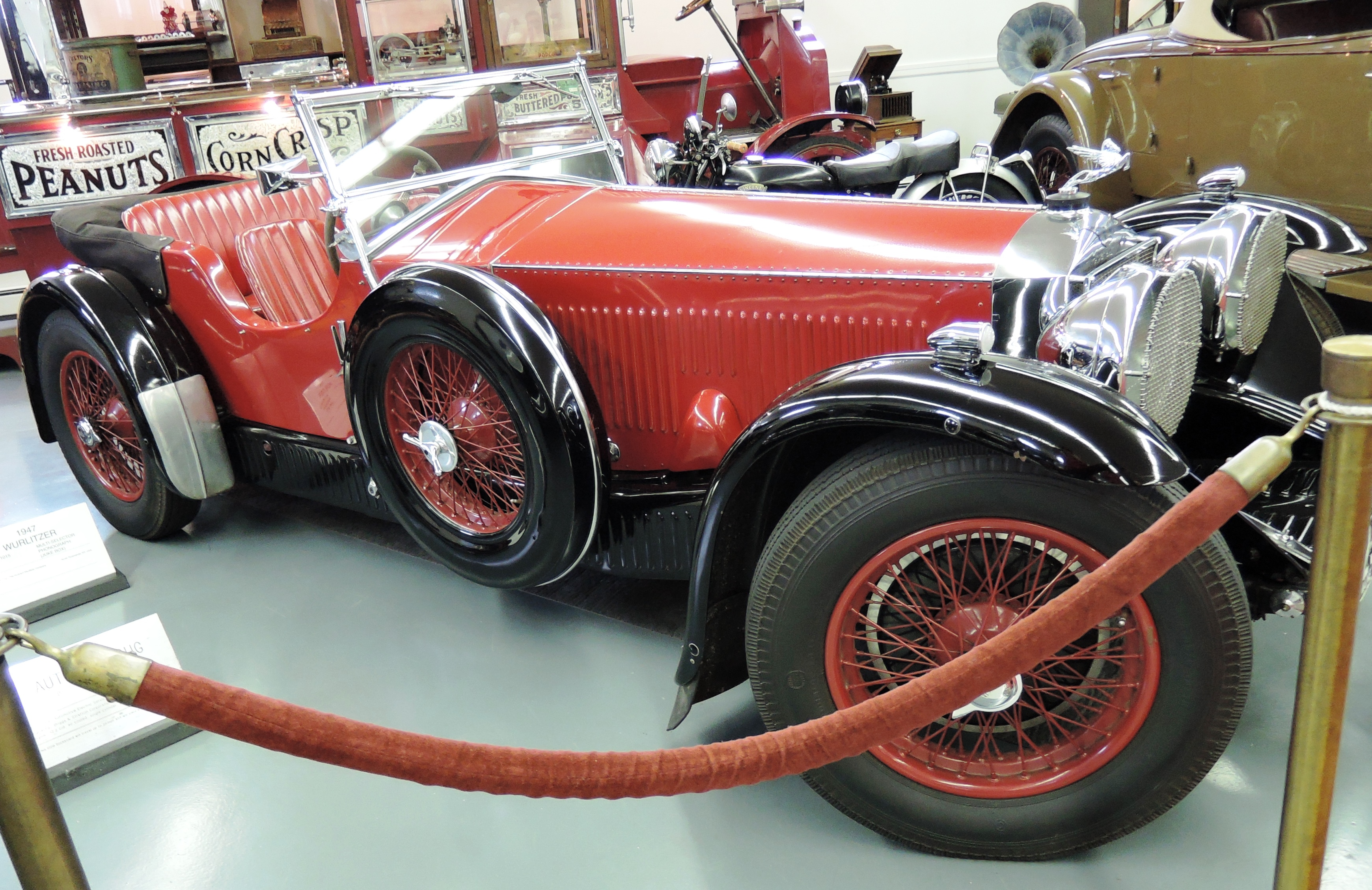 red 1931 Invicta S-Type Tourer - bahre car collection