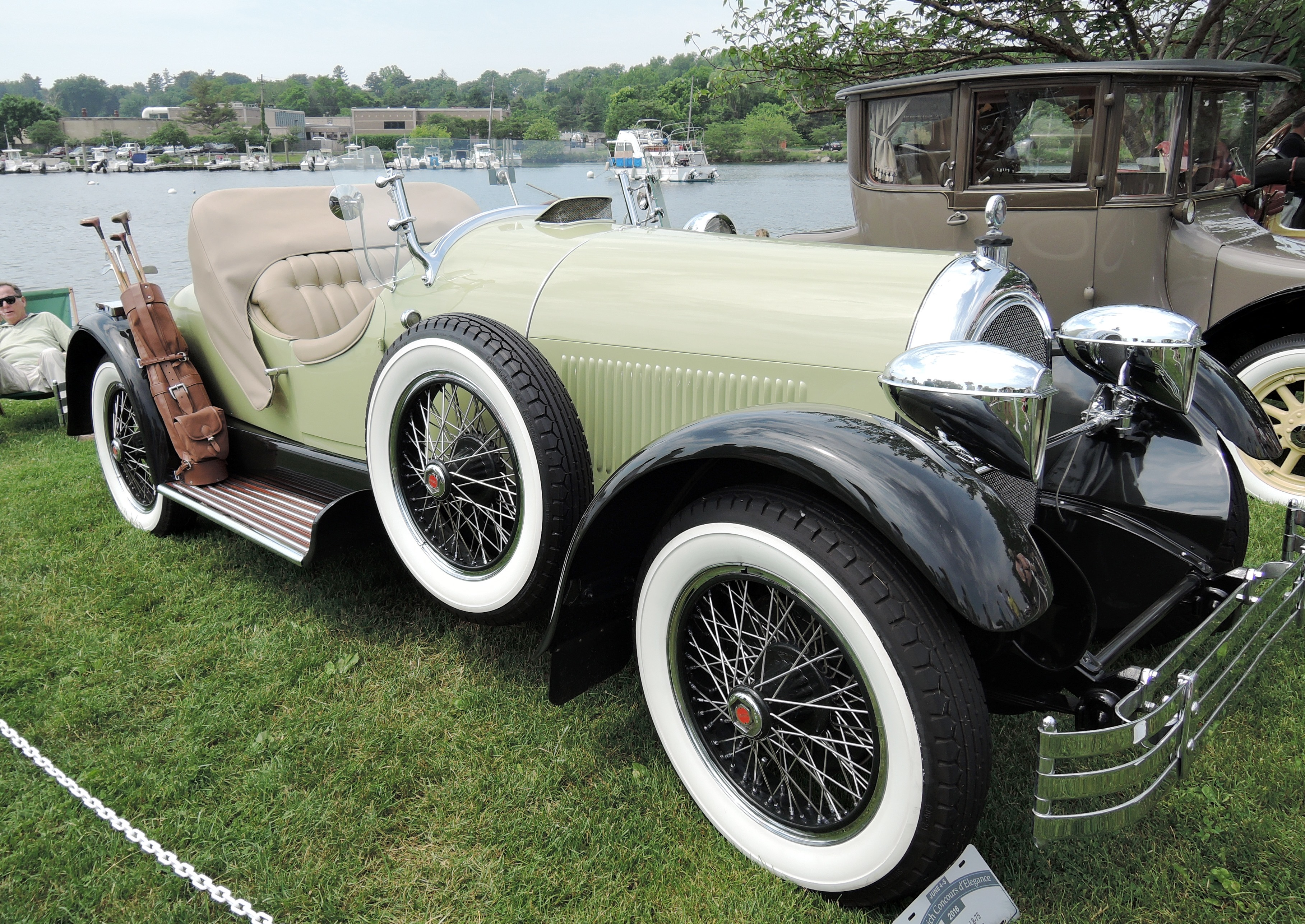green 1926 Kissel 8-75 - greenwich concours