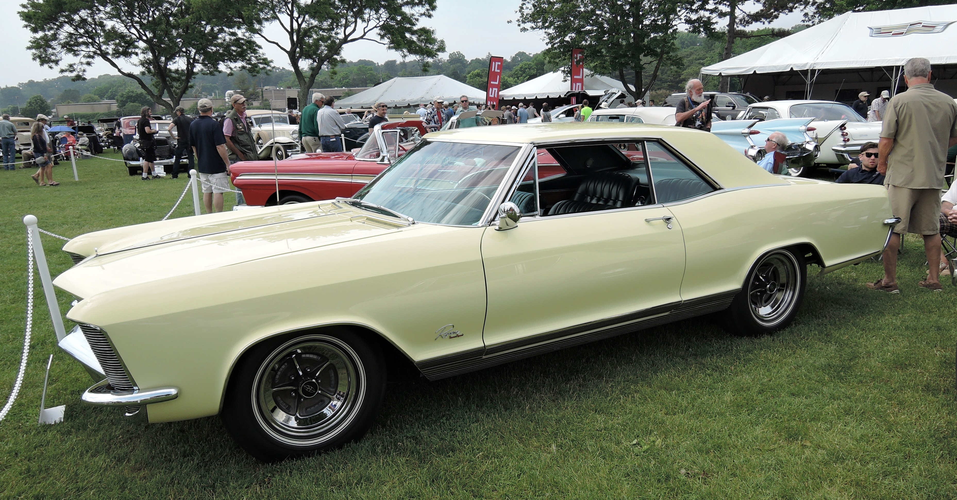 yellow 1965 Buick Riviera Gran Sport - greenwich concours