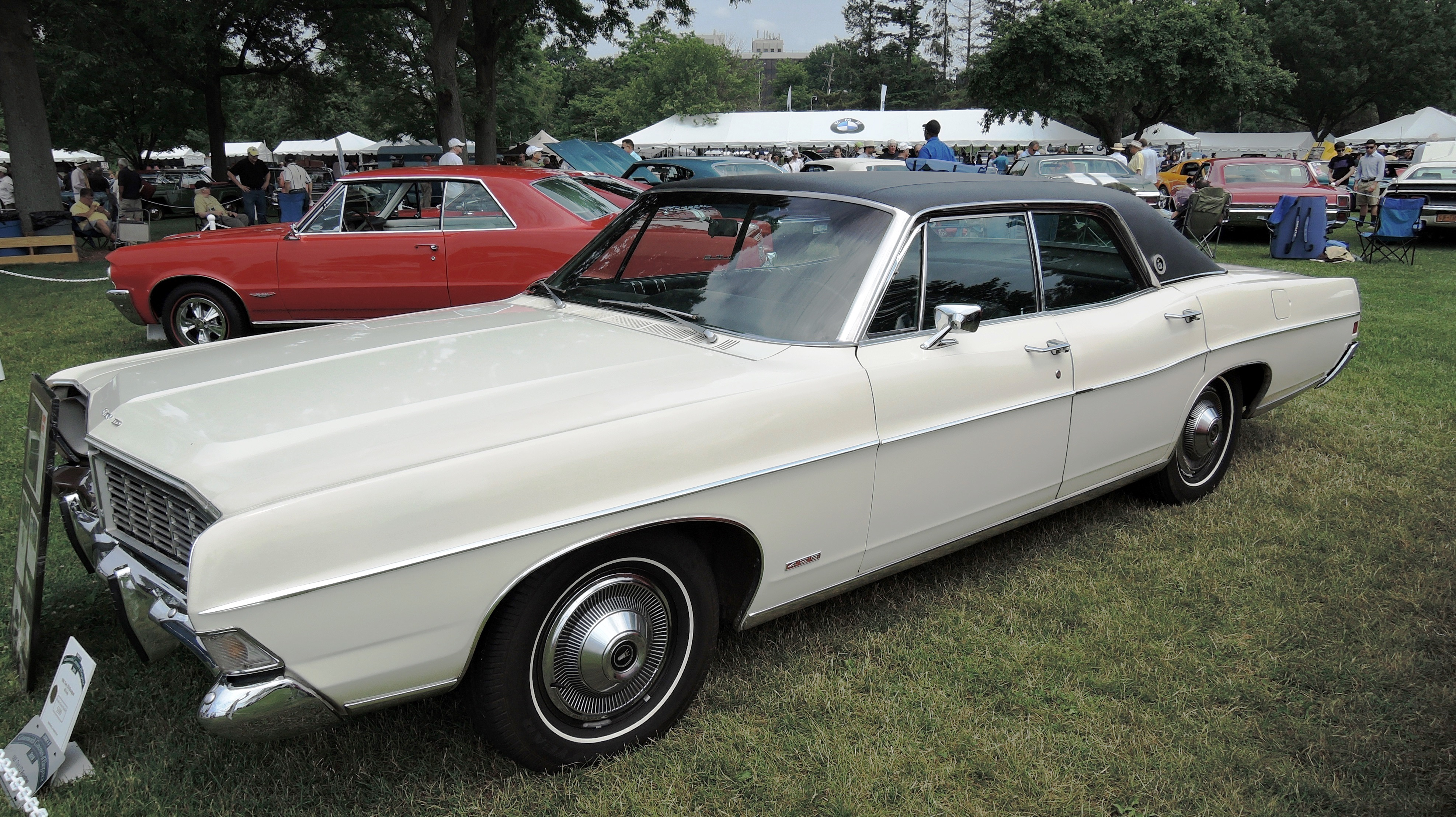 white 1968 Ford LTD Brougham - greenwich concours