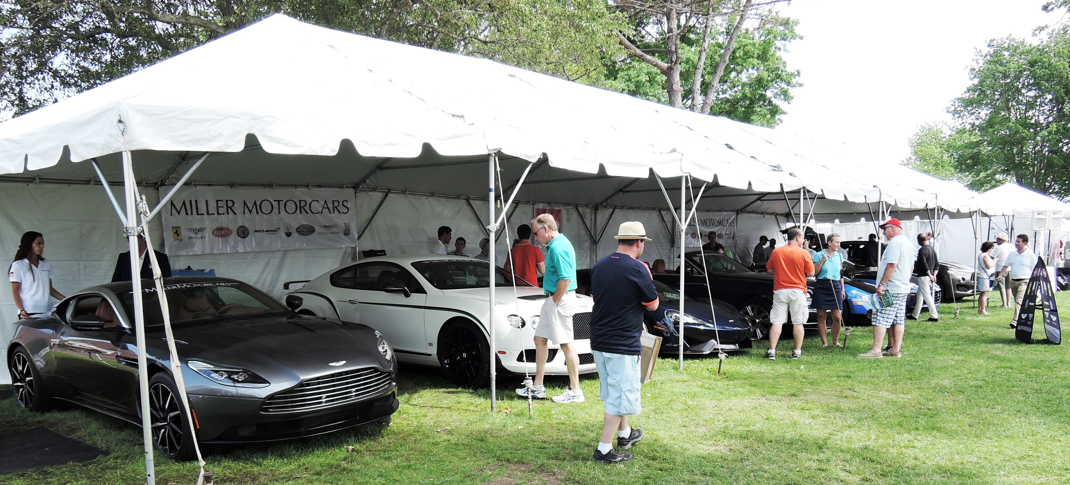 Greenwich concours d'elegance- miller motorcars