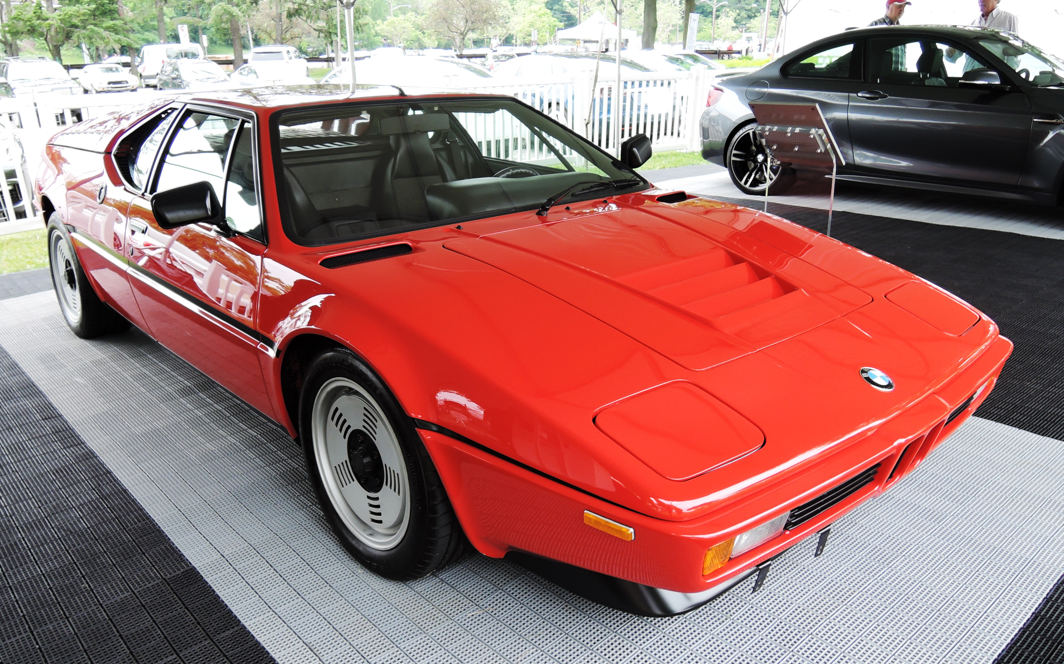 red 1981 BMW M1 - Greenwich concours d'elegance
