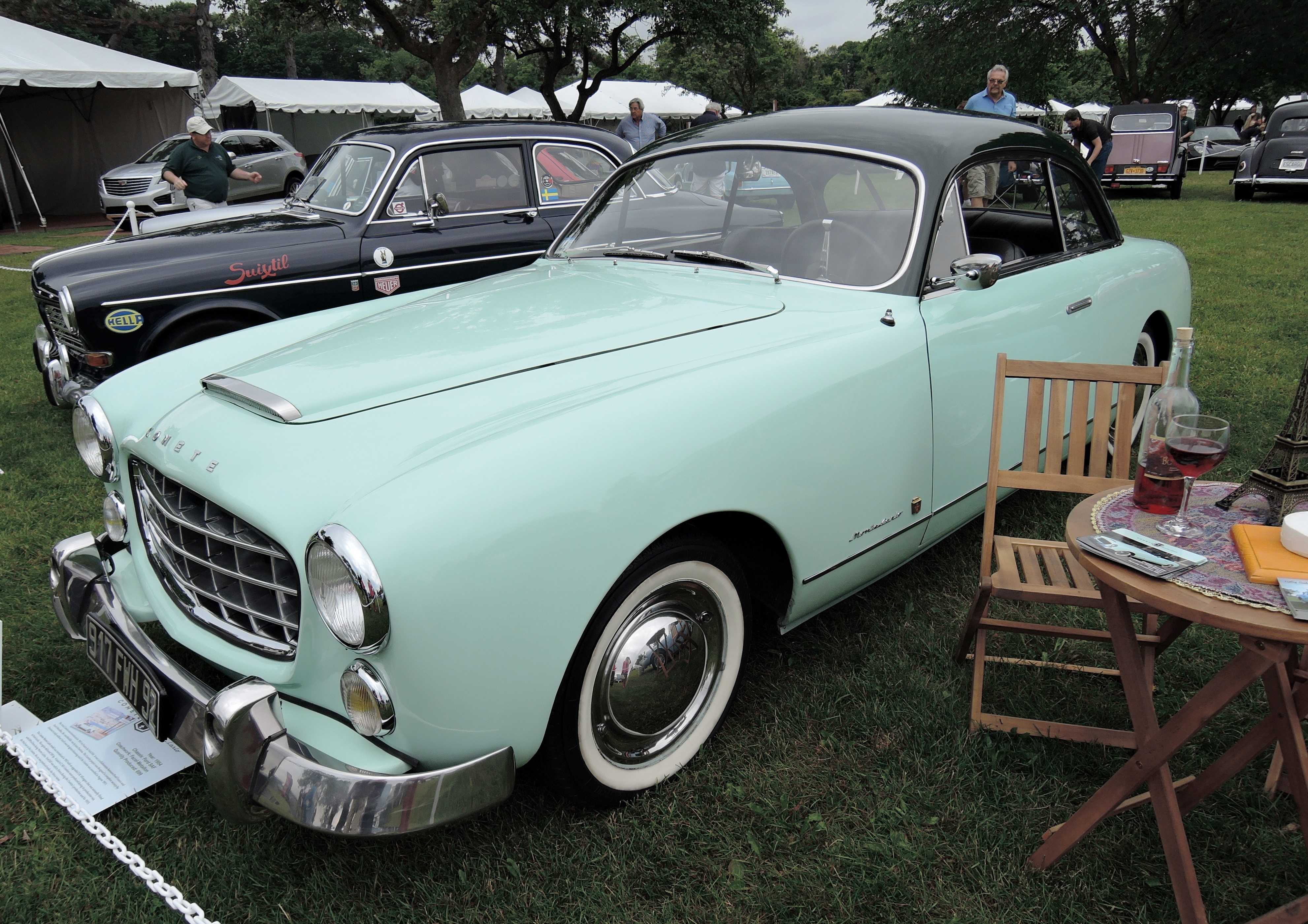 Greenwich Concours Delegance Sunday The Auto Blonde 1954 Ford Cars For Sale Green Comete Monte Carlo