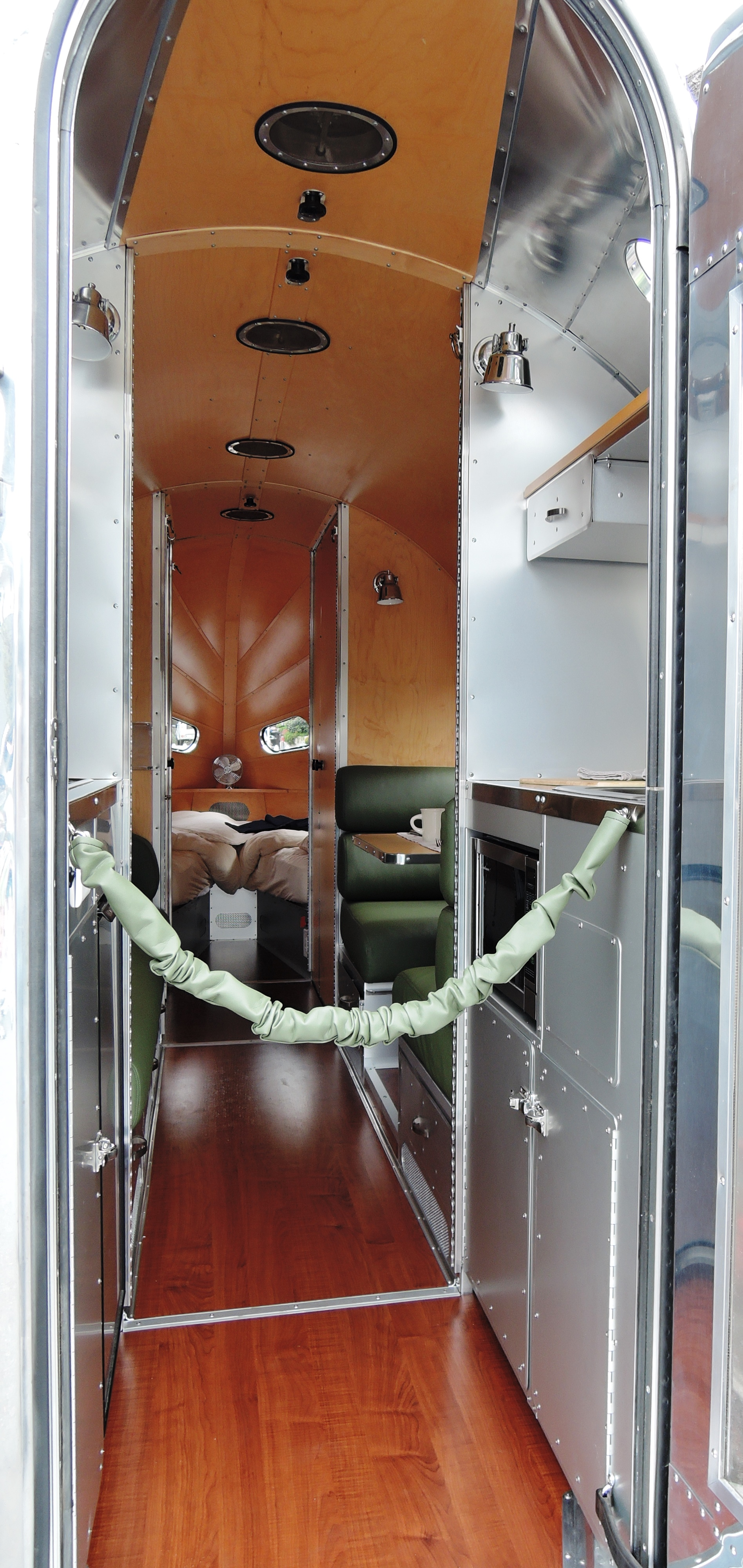 interior bowlus road chief - concours on the ave carmel