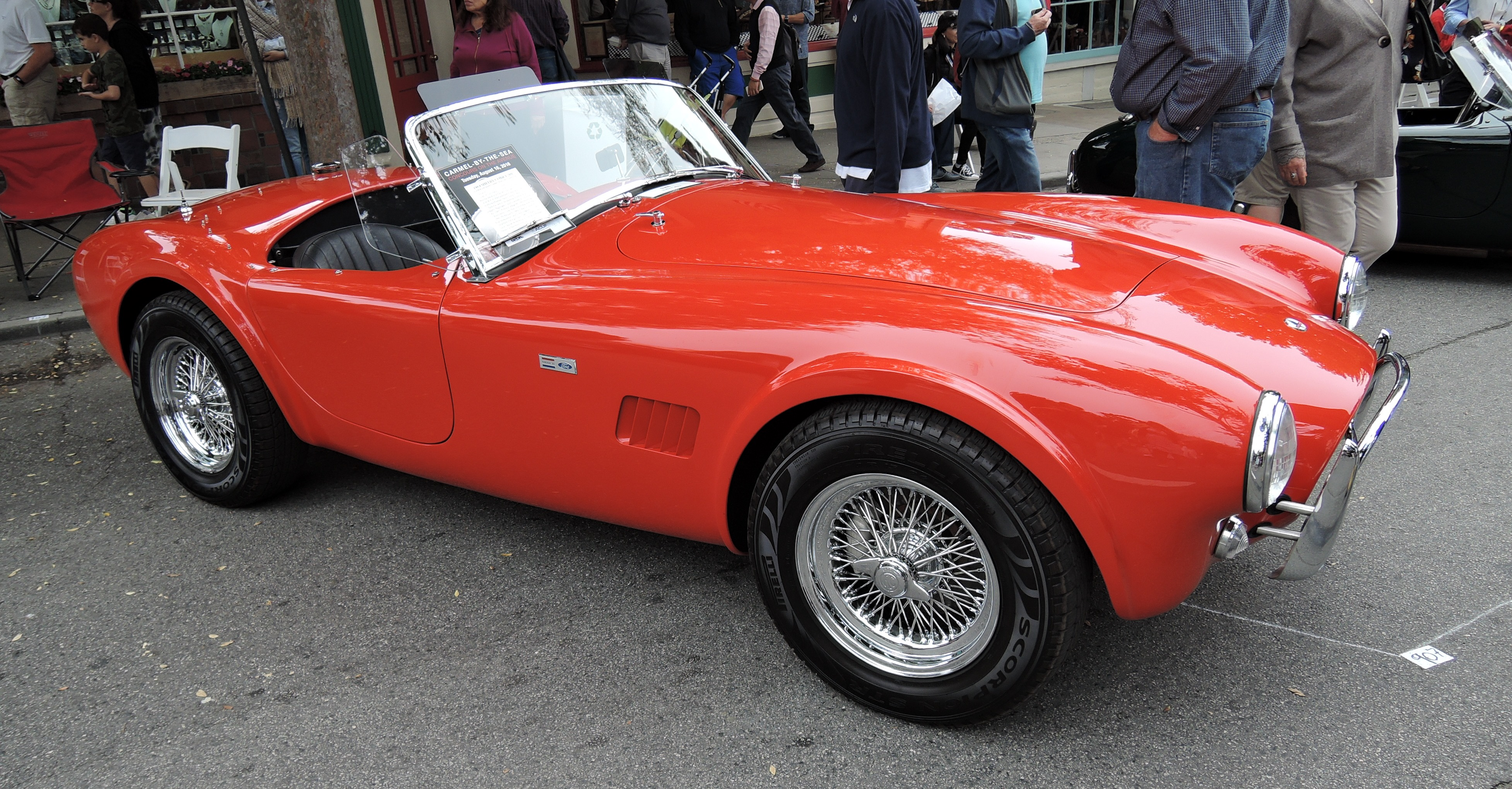 red 1964 Shelby Cobra 289 - Concours on the Ave Carmel