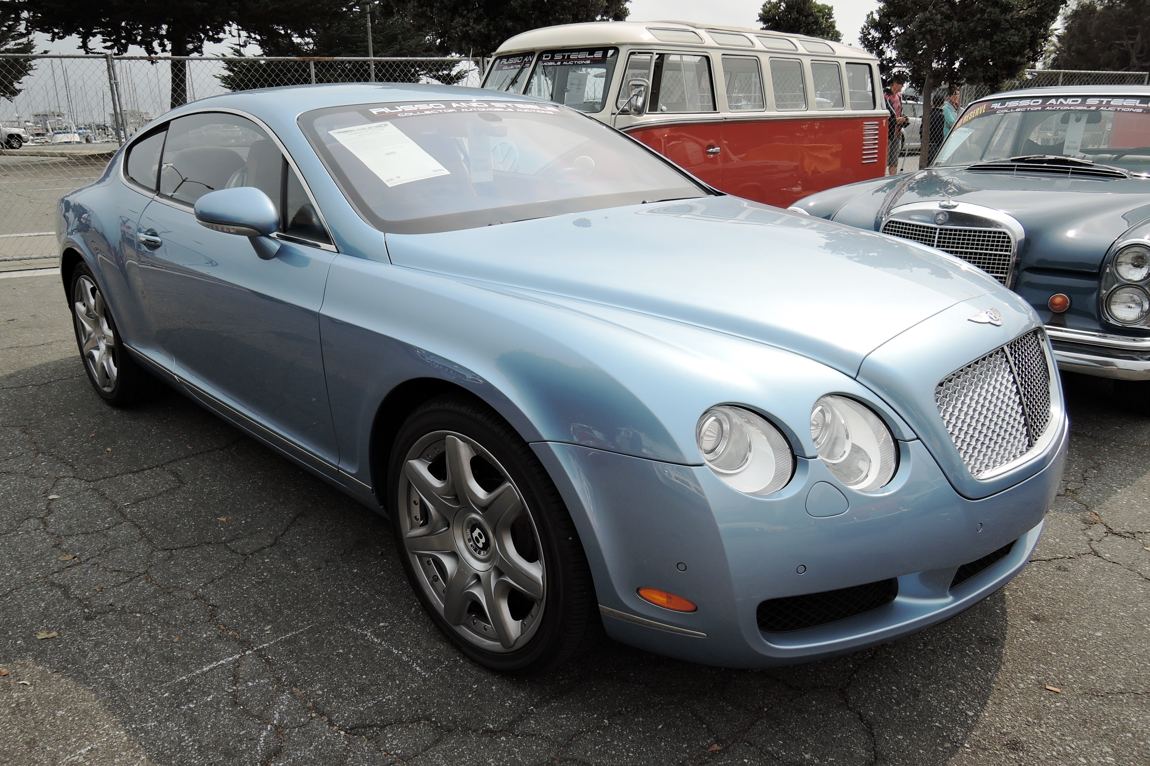 blue 2006 Bentley GT Coupe - Monterey auctions Russo & Steele