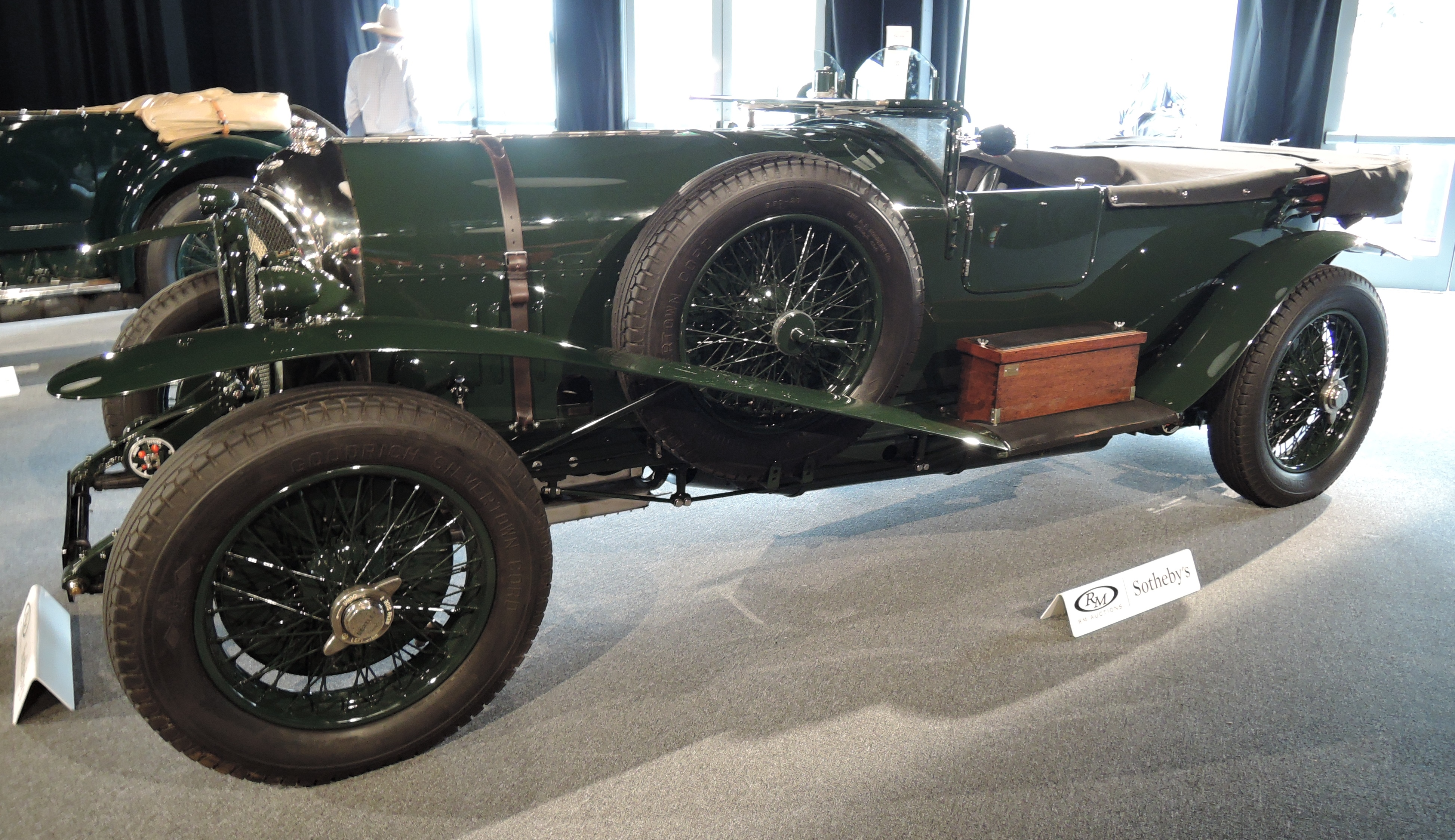 green/green 1926 Bentley 'Old Mother Gun' 3-41/2 Litre Tourer - Monterey auctions RM Sotheby's