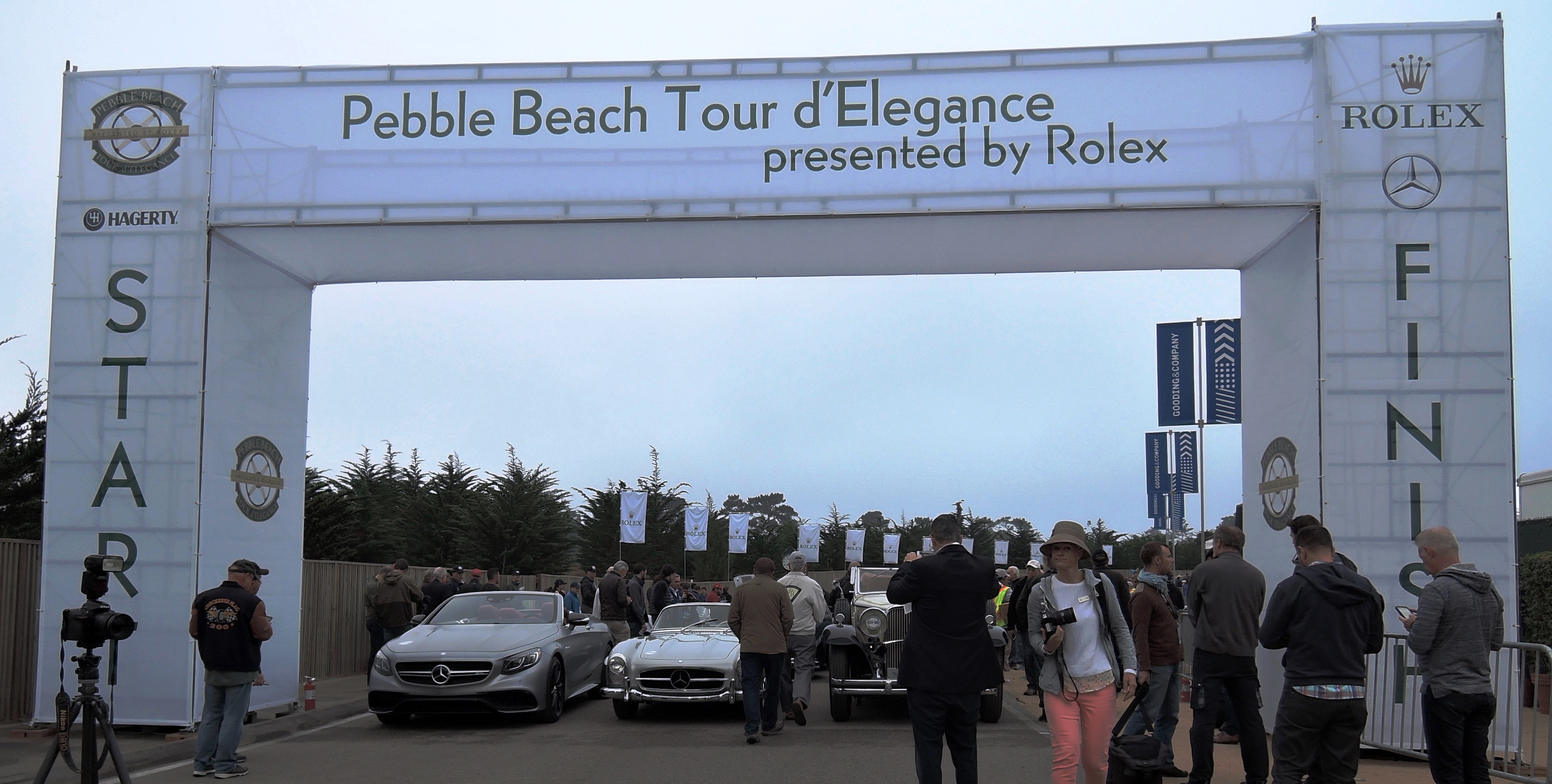 Pebble Beach Tour d'Elegance - Monterey Car Week 2016