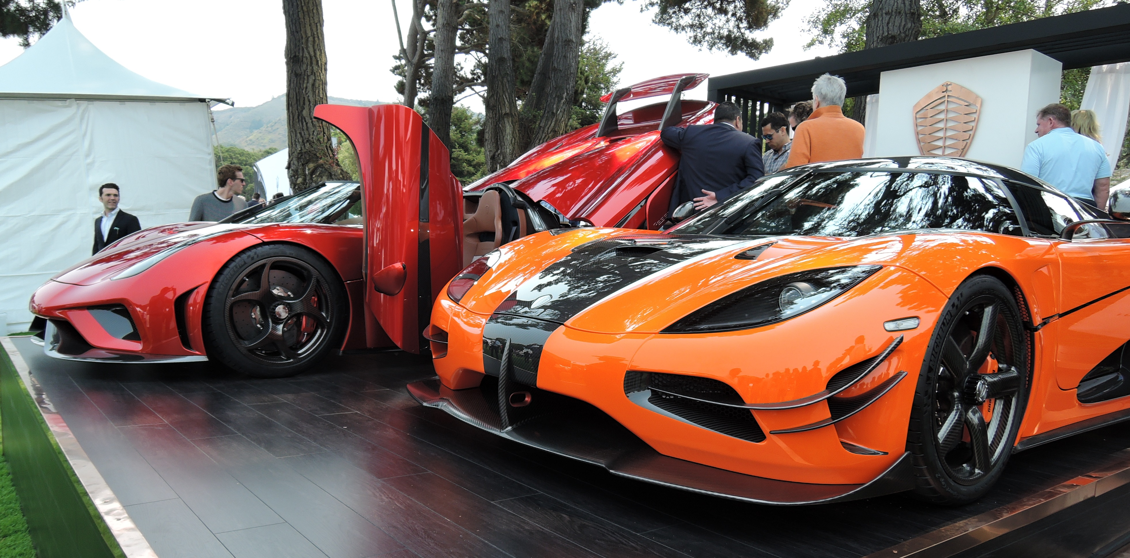 Koenigsegg display - The Quail 2016