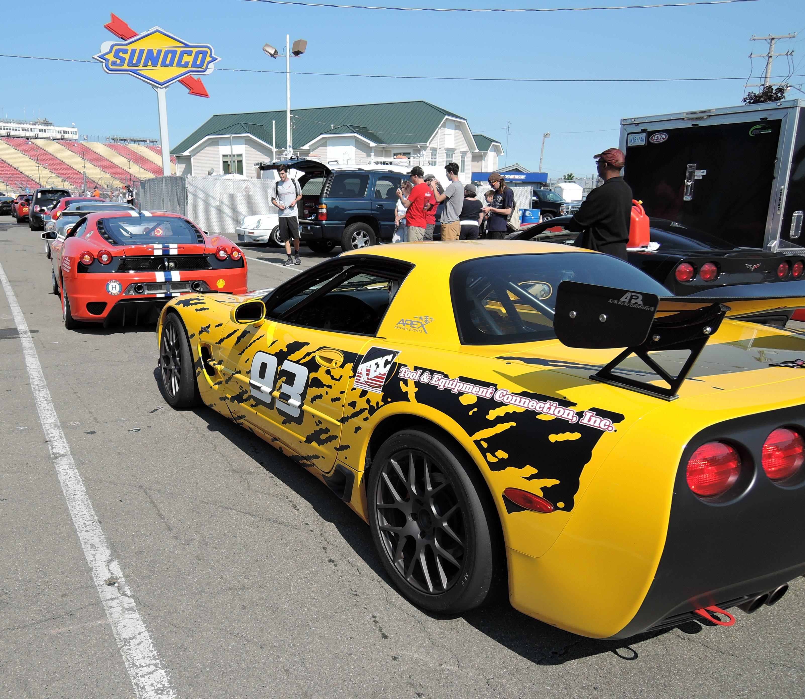 ferrari challenge cars - ferrari club at watkins glen