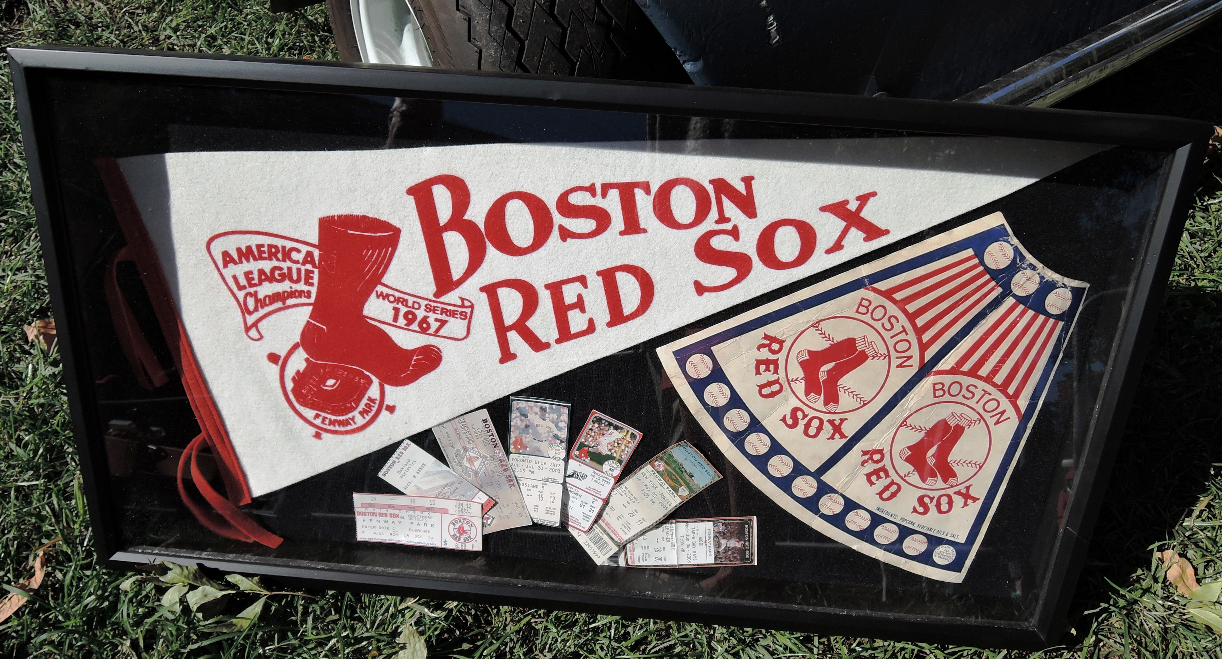 Boston Red Sox memorandum - The Boston Cup on Boston Common