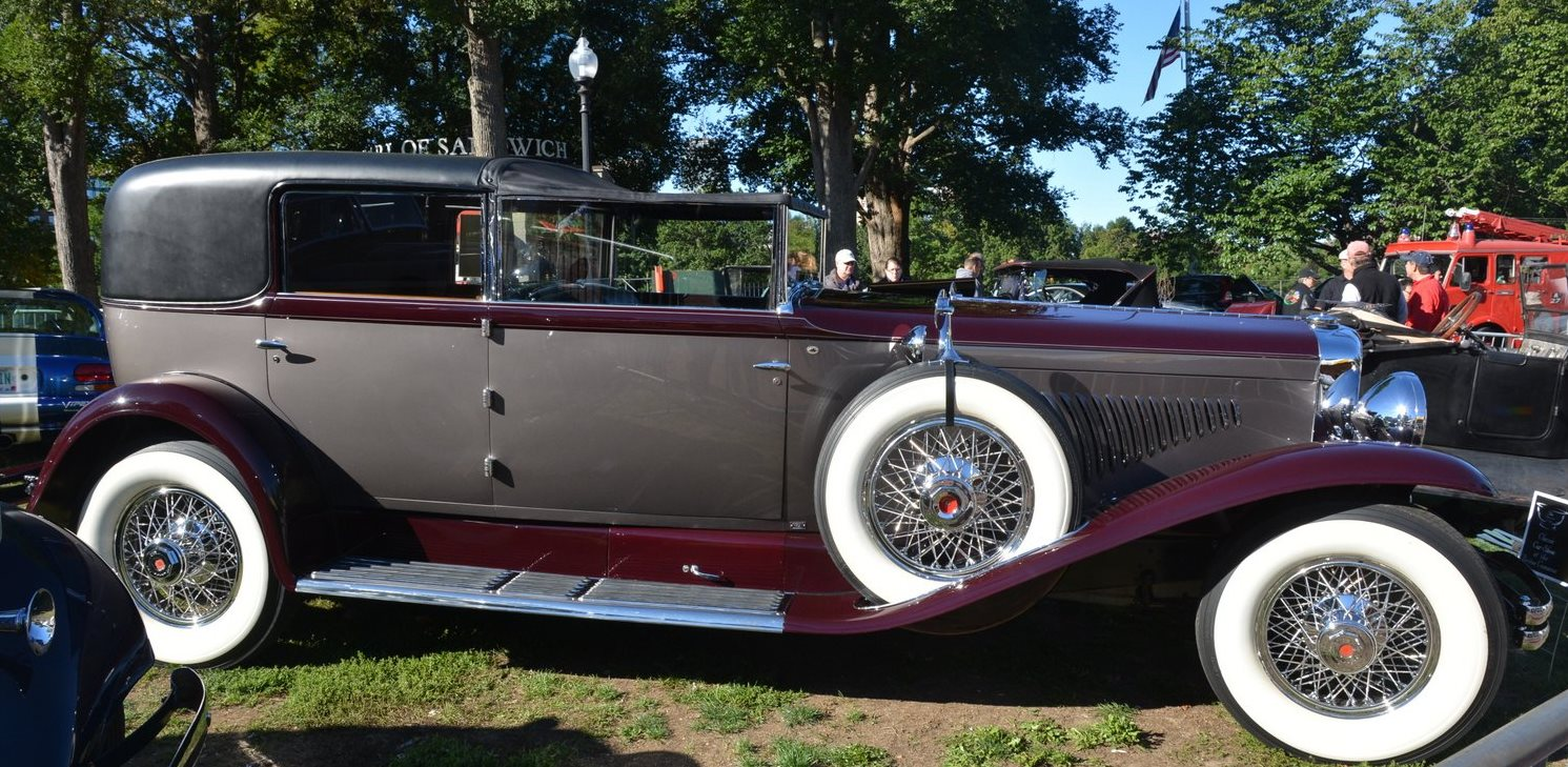 1930 Duesenberg Model J Town Cabriolet - The Boston Cup on Boston Common