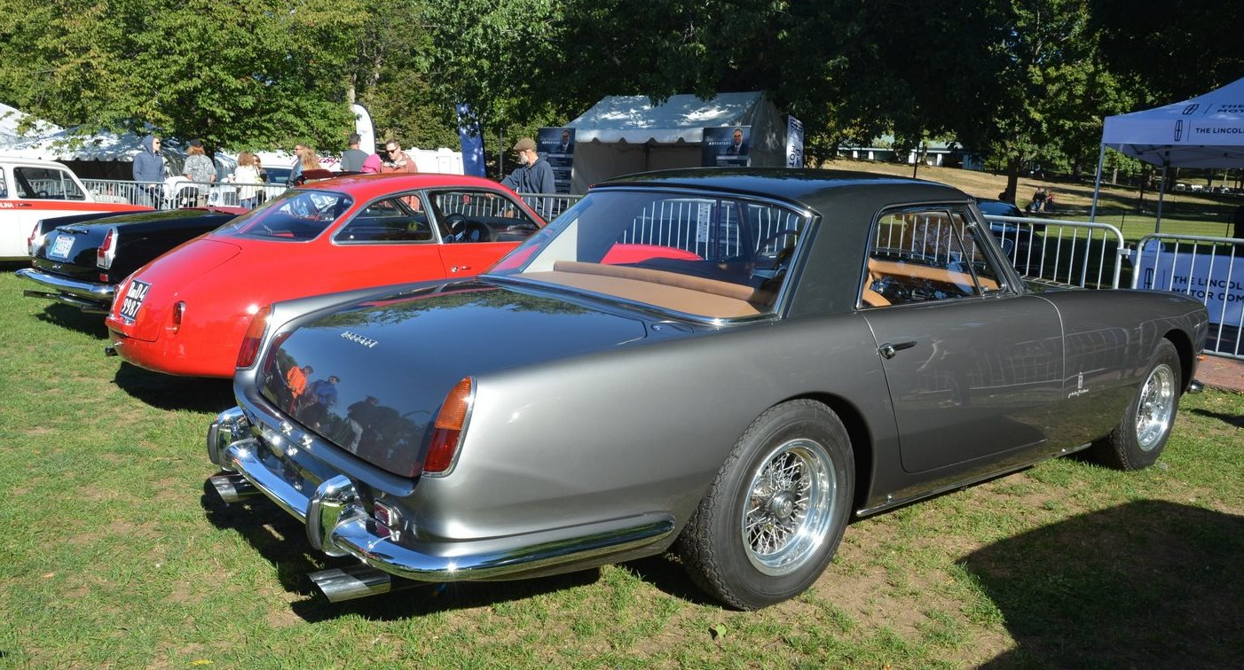 Italian cars - The Boston Cup on Boston Common