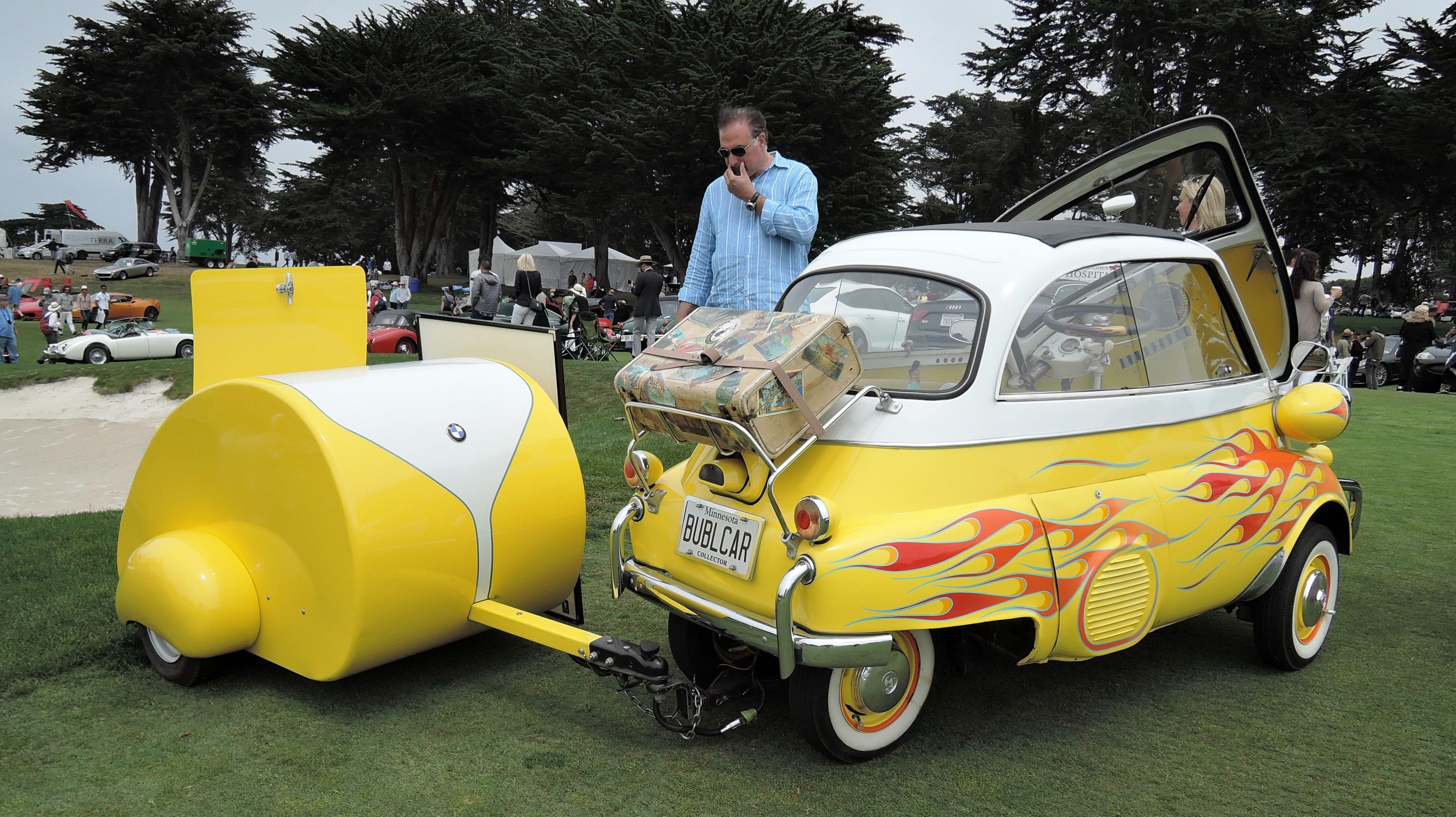 bubble car - Concorso Italiano Monterey Car Week
