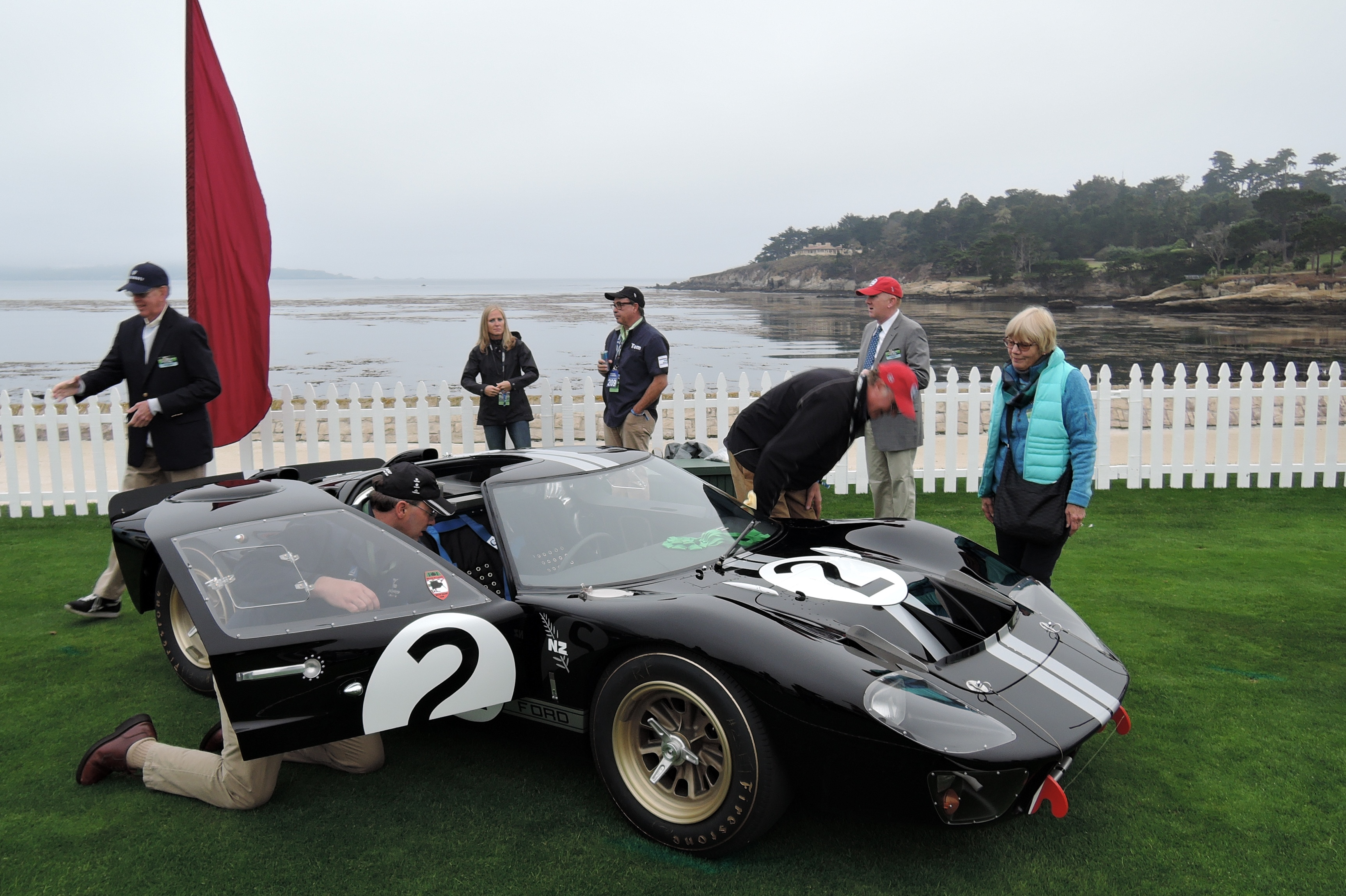 No. 2 1966 Ford GT40 P/1046 MKII - Pebble Beach Concours d'Elegance 2016