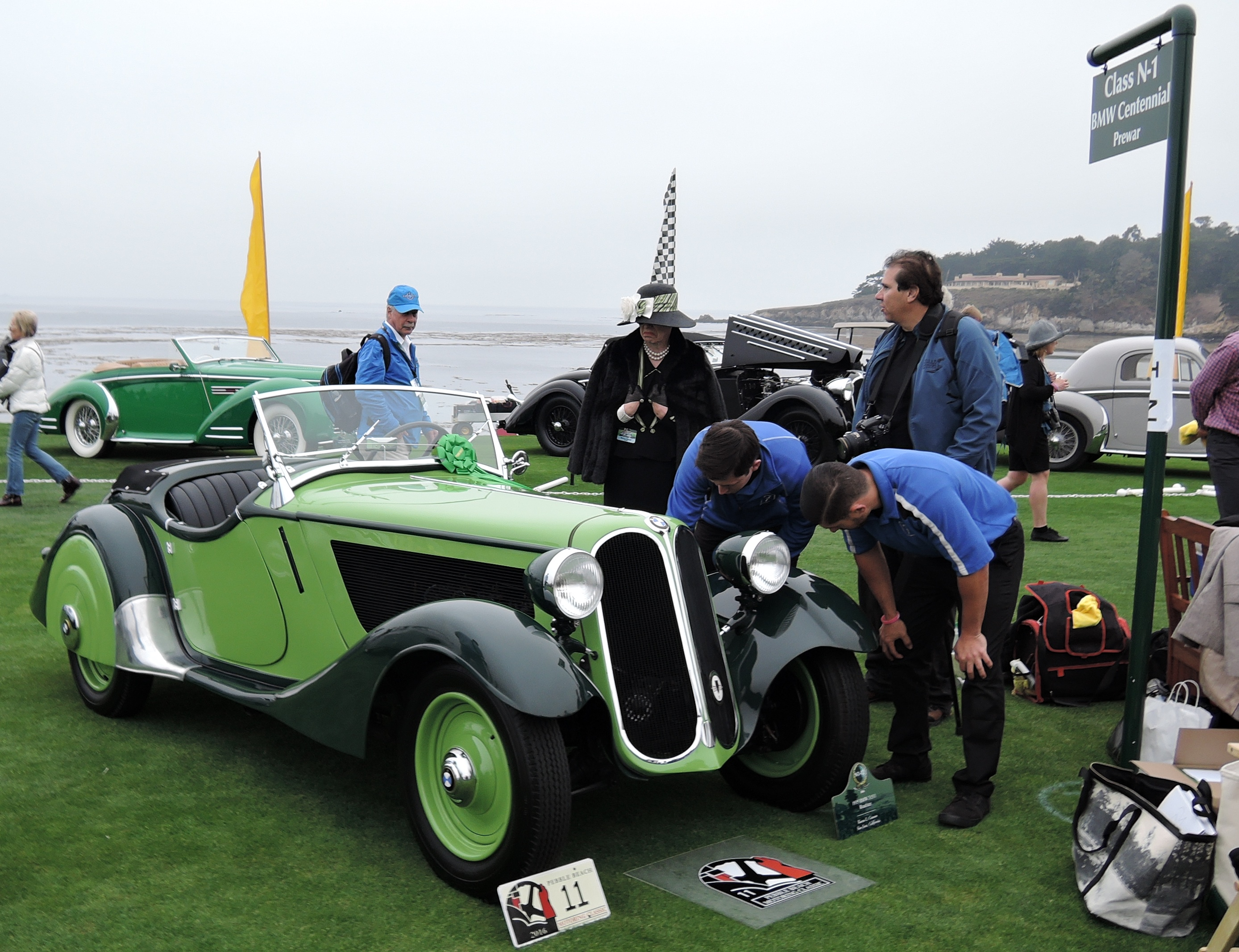 green 1935 BMW 315/1 Roadster - Pebble Beach Concours d'Elegance 2016