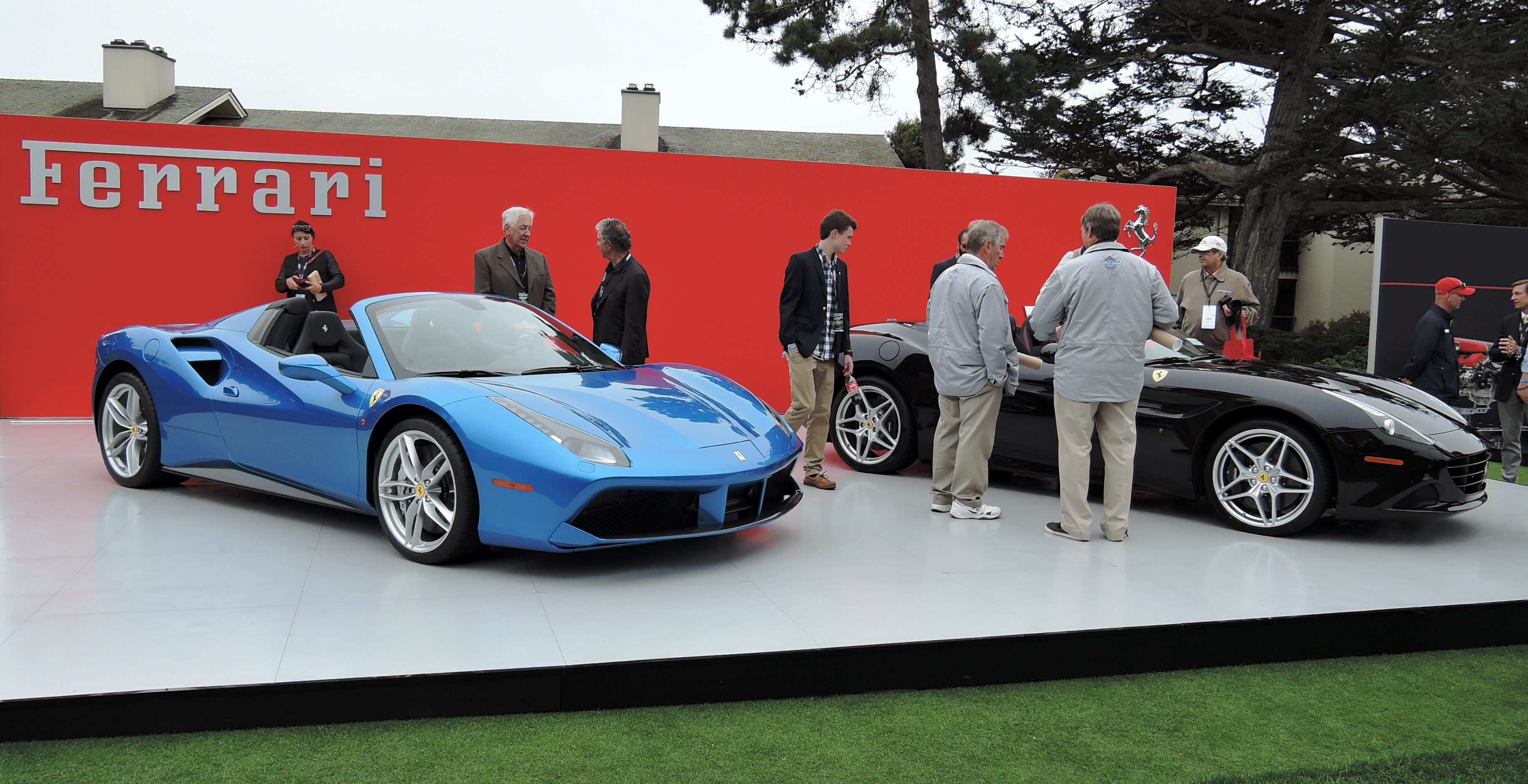 FNA display - Pebble Beach Concours d'Elegance 2016