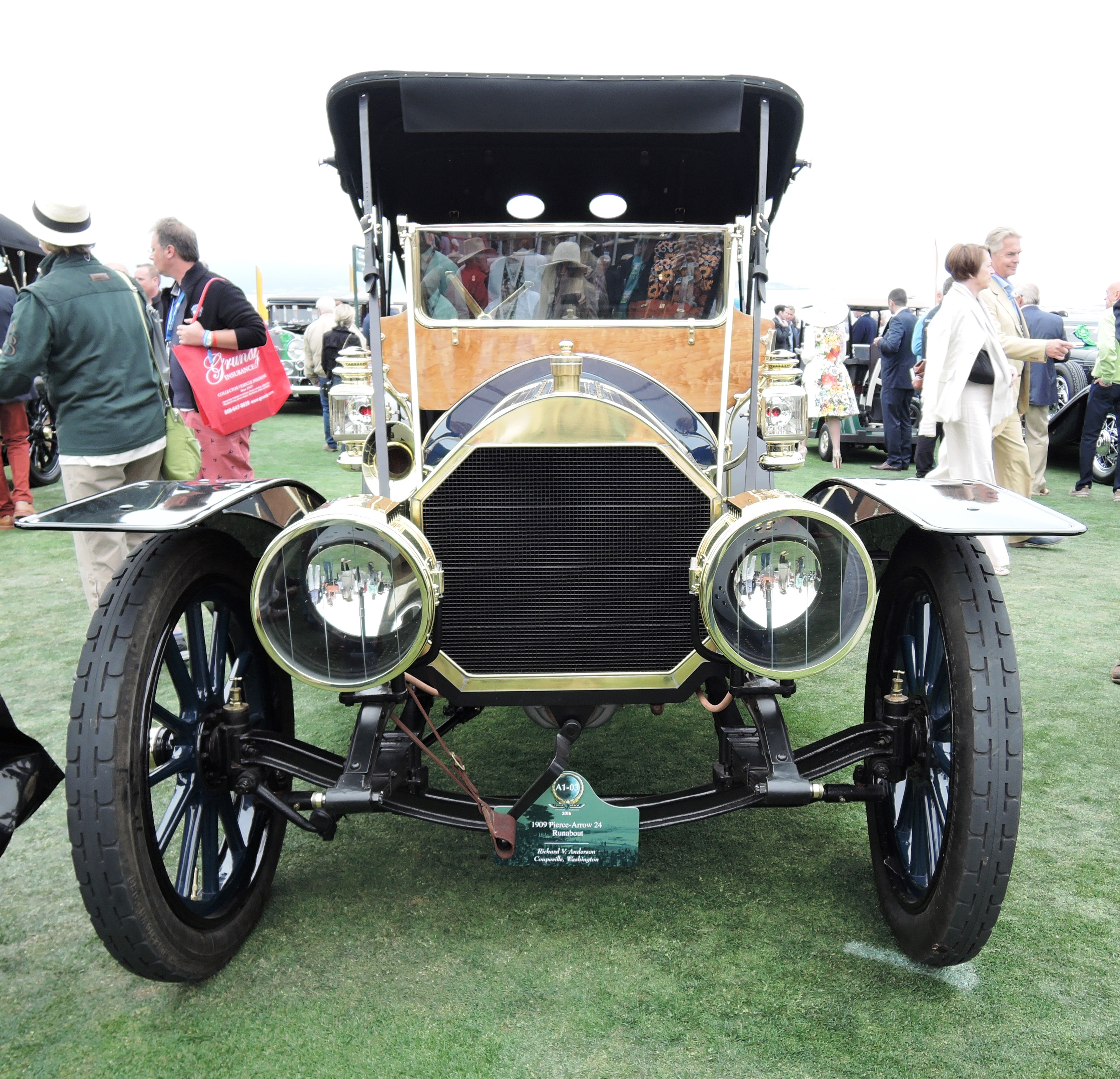 1909 Pierce-Arrow 24 Runabout - Pebble Beach Concours d'Elegance 2016