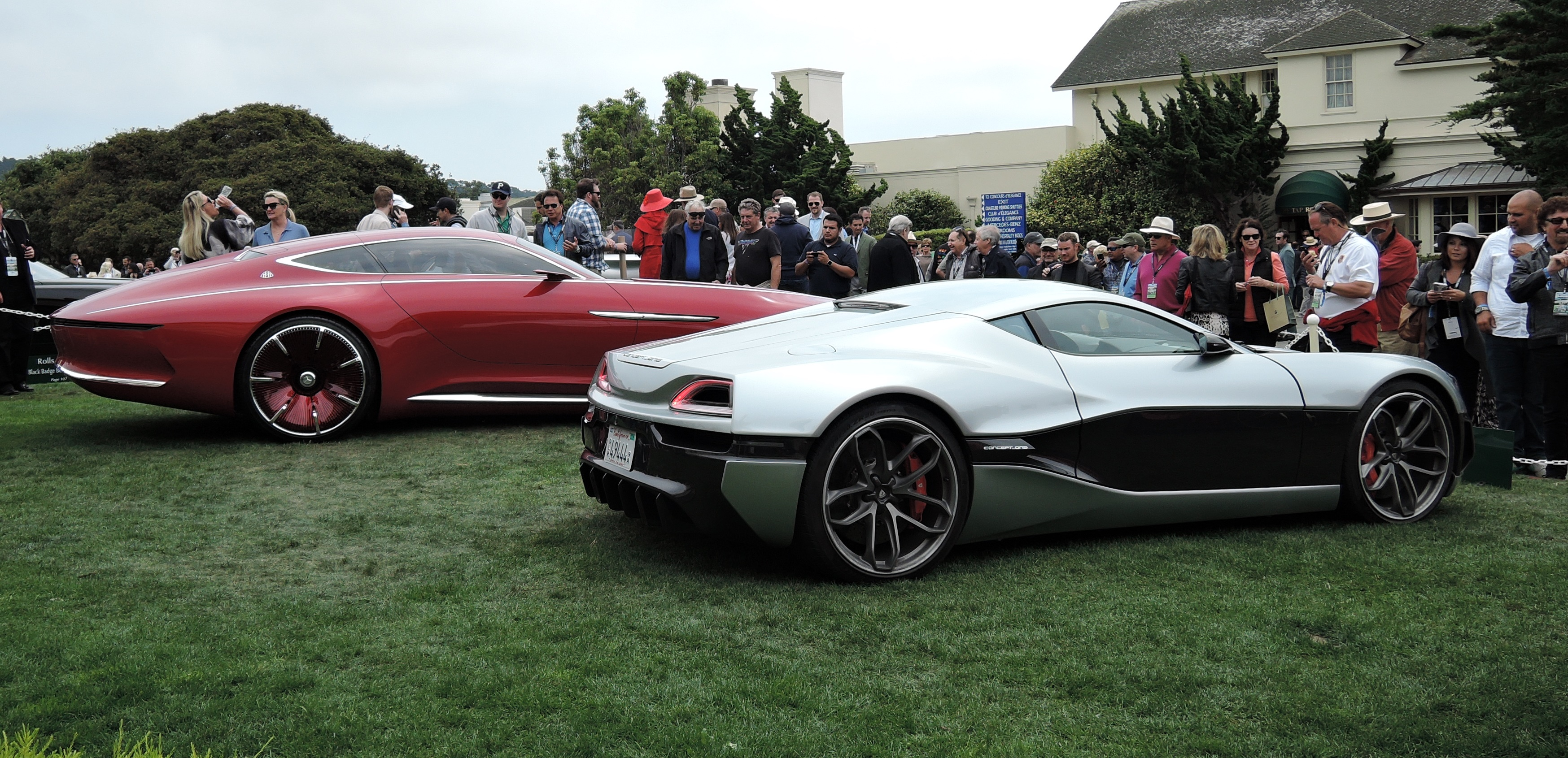 Mercedes and Porsche Concept Cars - Pebble Beach Concours d'Elegance 2016