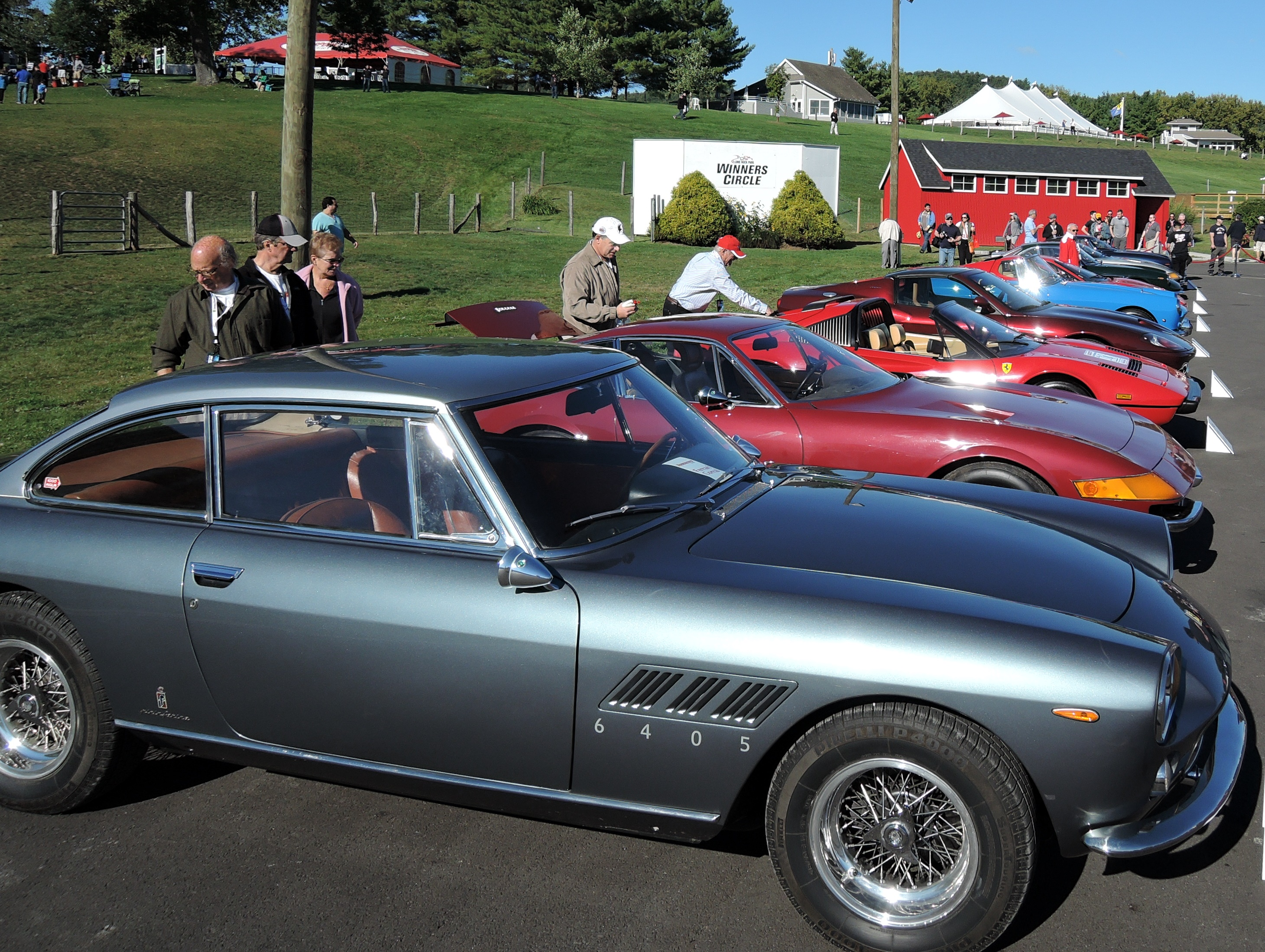 Ferrari Vintage Corral at Ferrari Challenge Series at LRP
