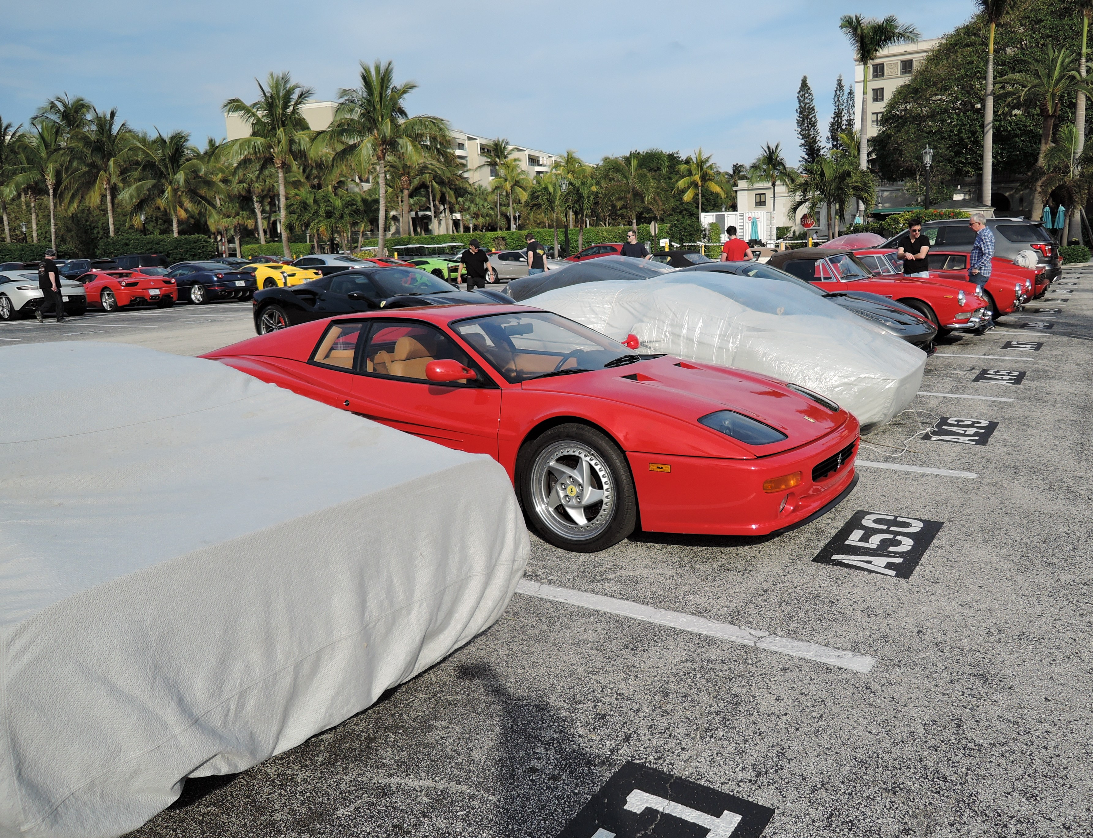 Breakers Hotel parking lot - Cavallino 2017 - the Breakers Hotel parking lot
