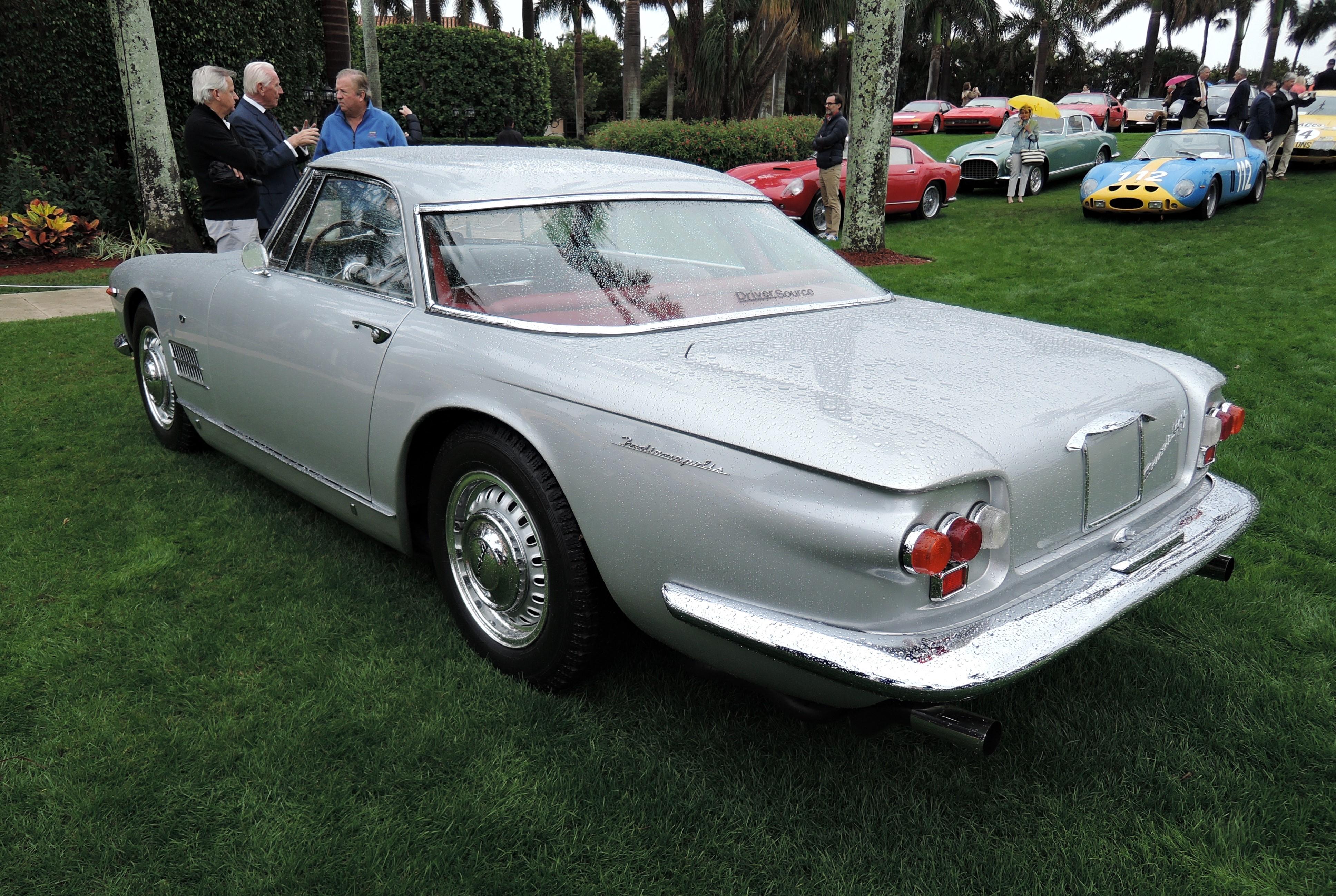 silver 1961 Maserati 500 GT Indy; Sn AM103.014 - MaraLago 2017