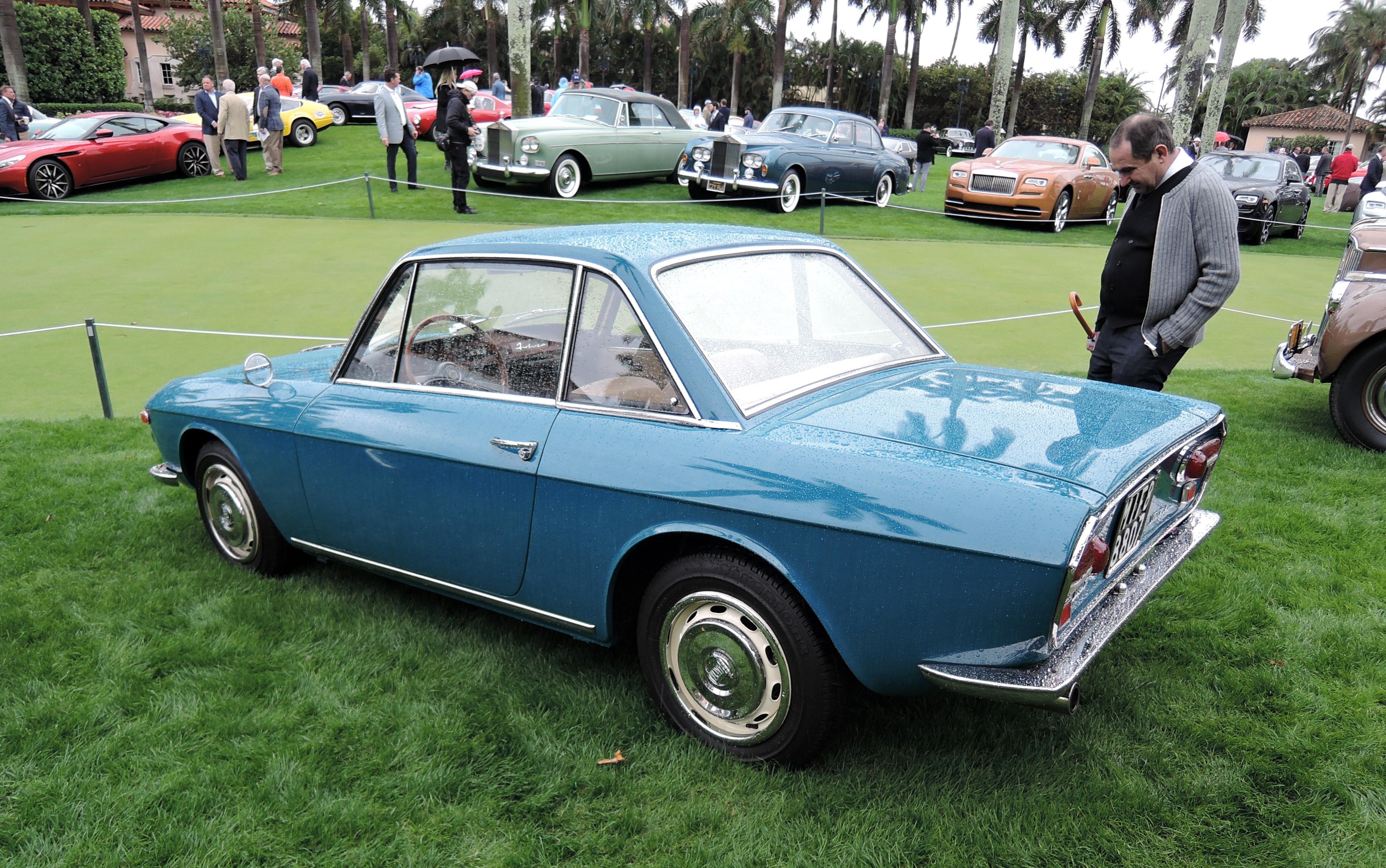 blue 1968 Lancia Fulvia 1.3S Coupe - MaraLago 2017
