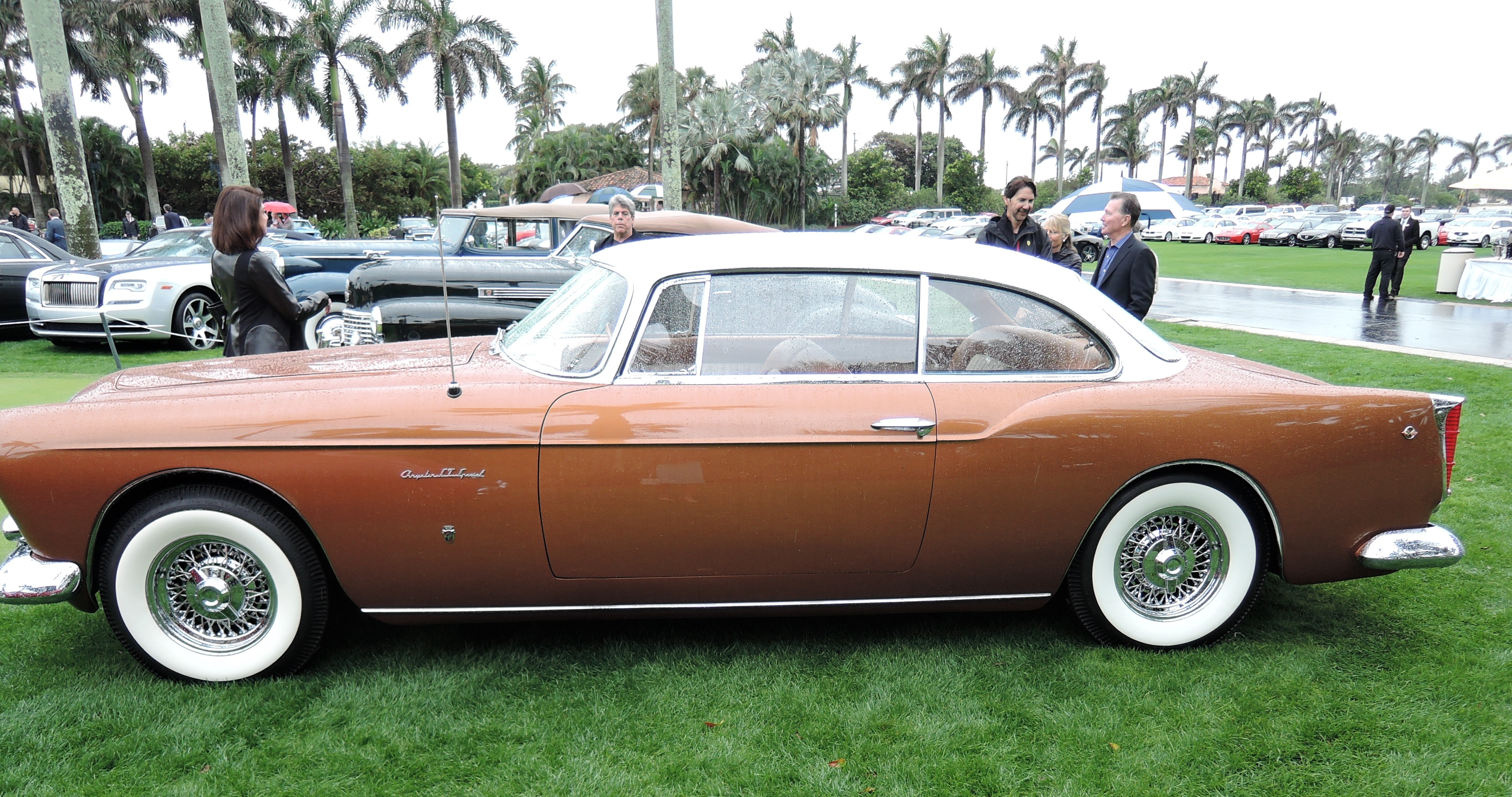 copper 1955 Chrysler Gia ST Special - MaraLago 2017