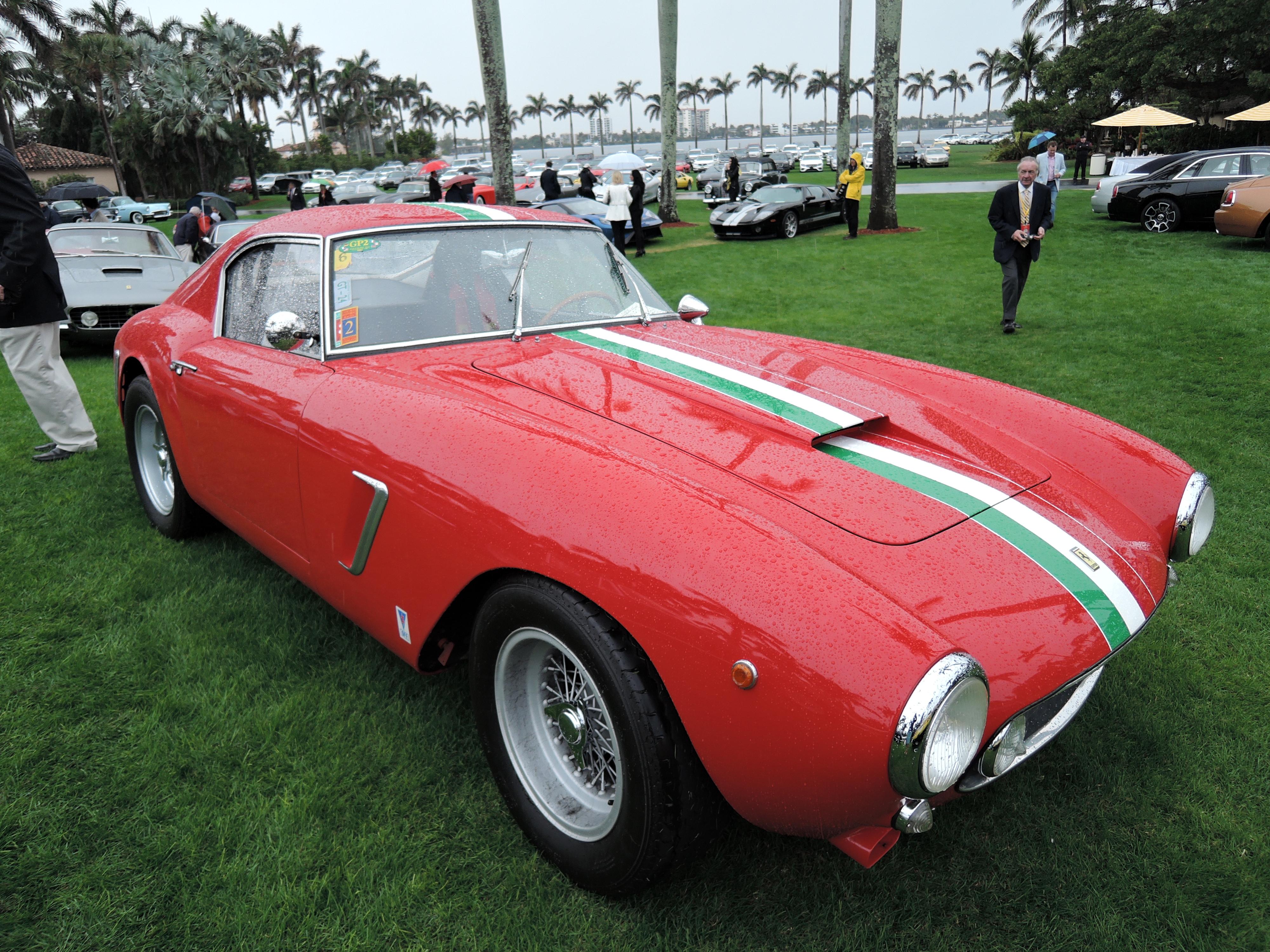 red 1959 Ferrari 250 GT SWB; Sn 2095 - MaraLago 2017